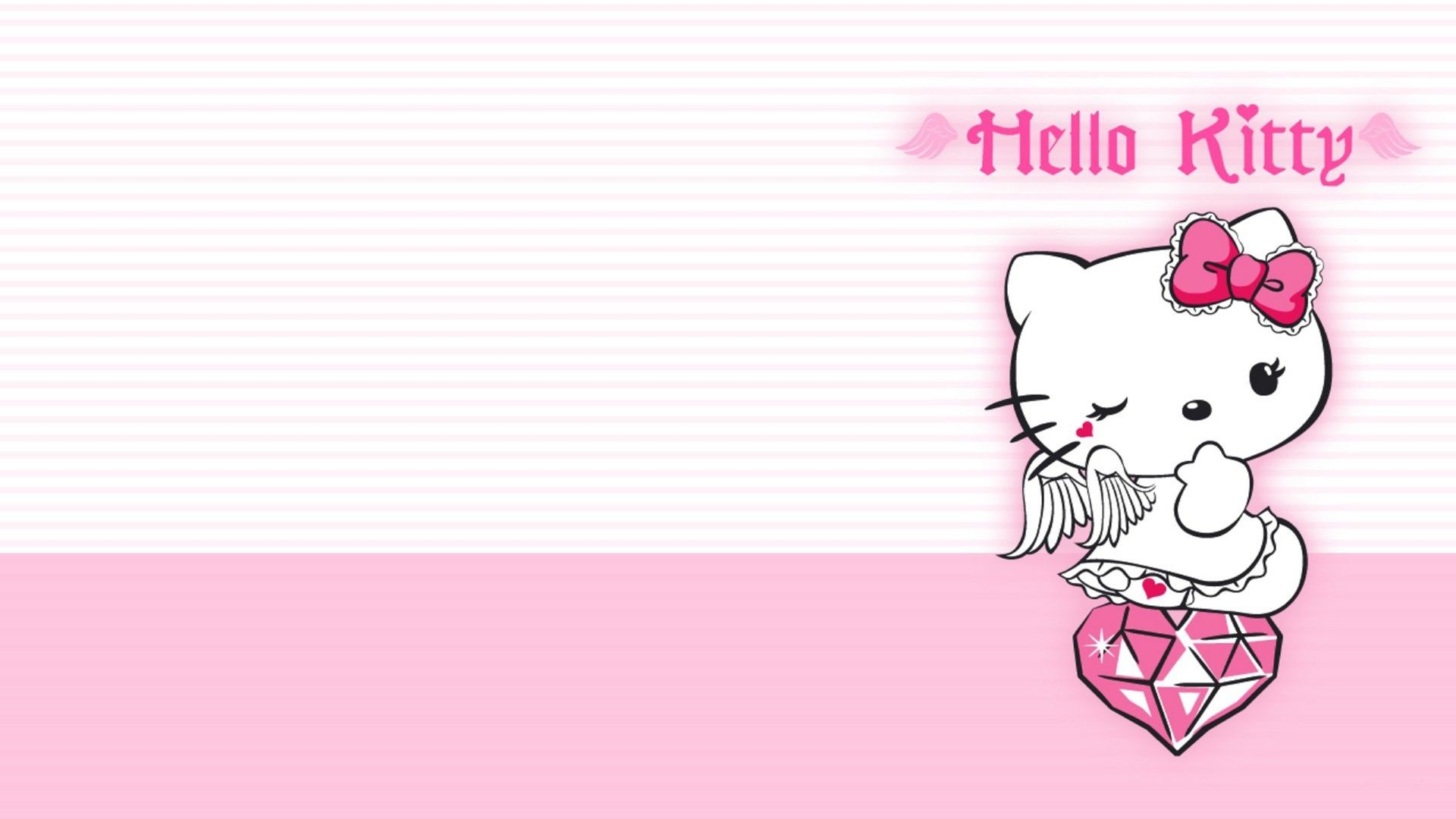 1920x1080 Hello Kitty Black Wallpapers High Resolution As Wallpaper HD