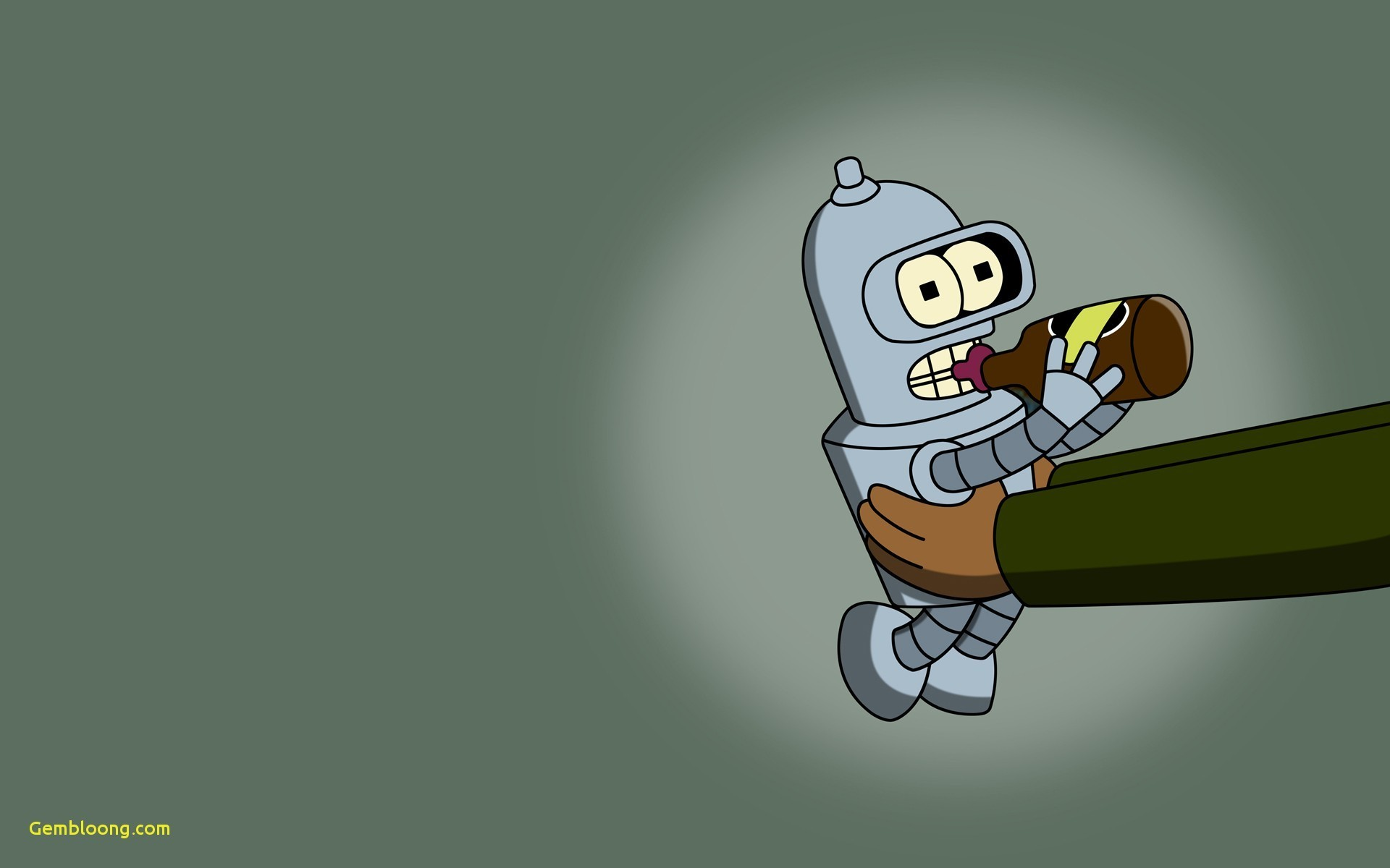 1920x1200 bender futurama wallpaper #536931