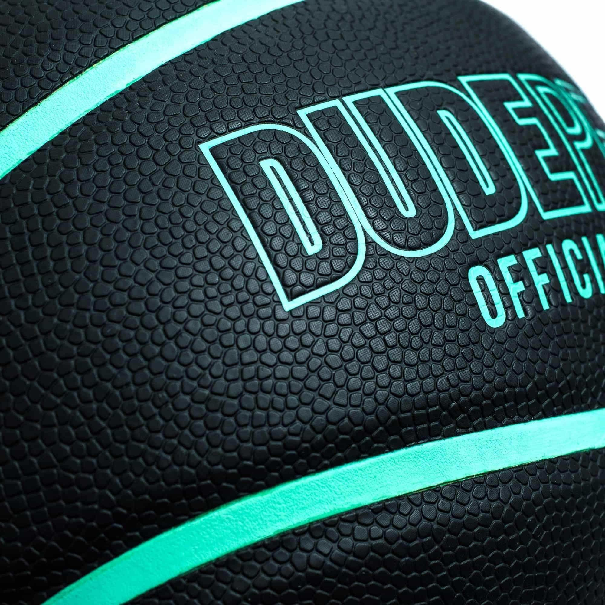 2000x2000 Dude Perfect Official Basketball // Black + Green