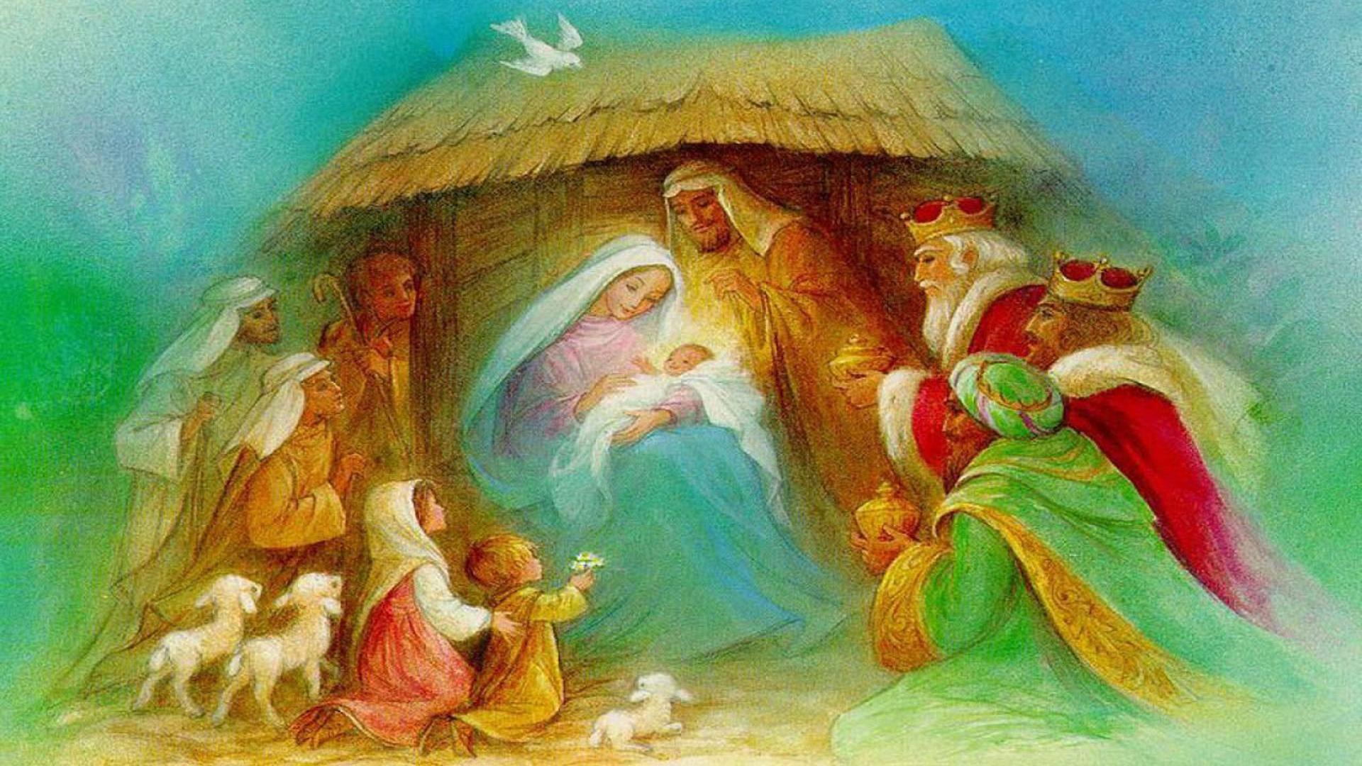 1920x1080 Christmas Nativity Wallpaper Download 2550x1440 Share