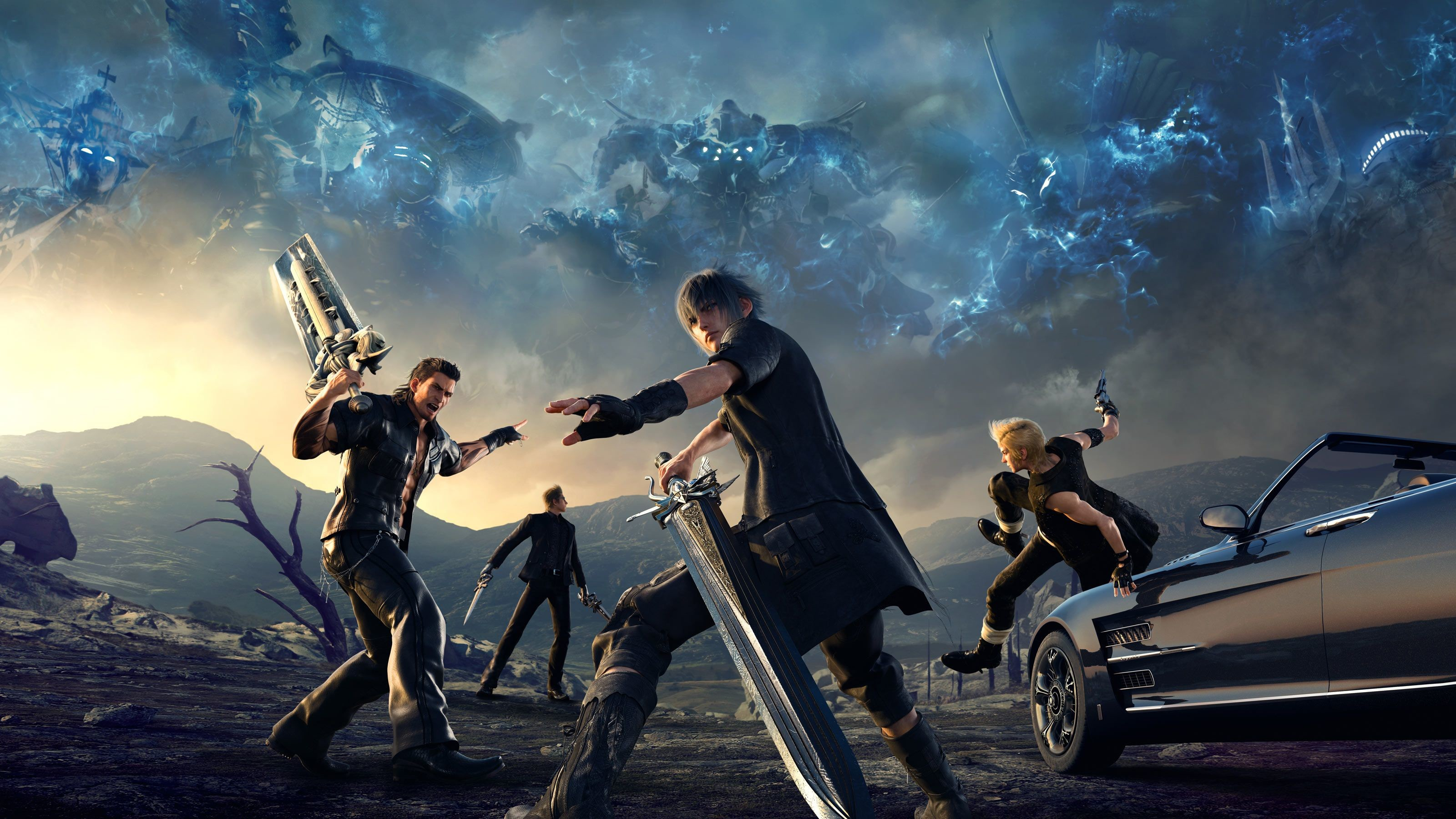 3200x1800 Final Fantasy XV Coming to Mobile and PC - https://www.gizorama