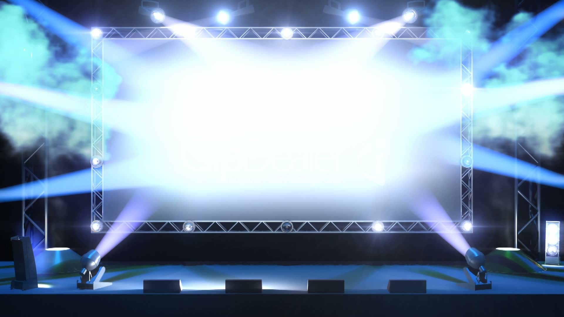 Concert stage wallpaper