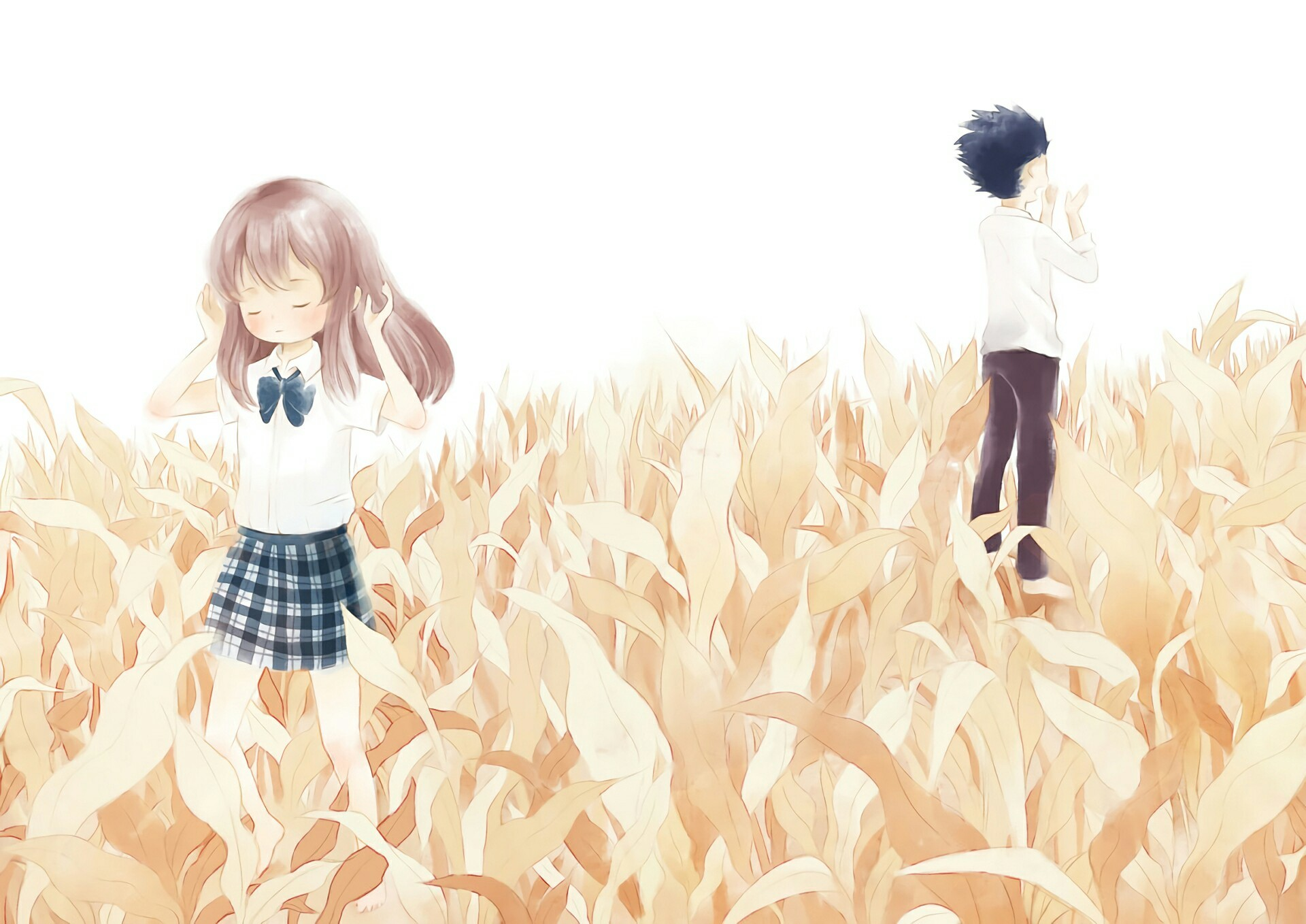 1920x1358 koe no katachi computer desktop backgrounds (Sailor Kingsman. Find this Pin  and more on A Silent Voice ...