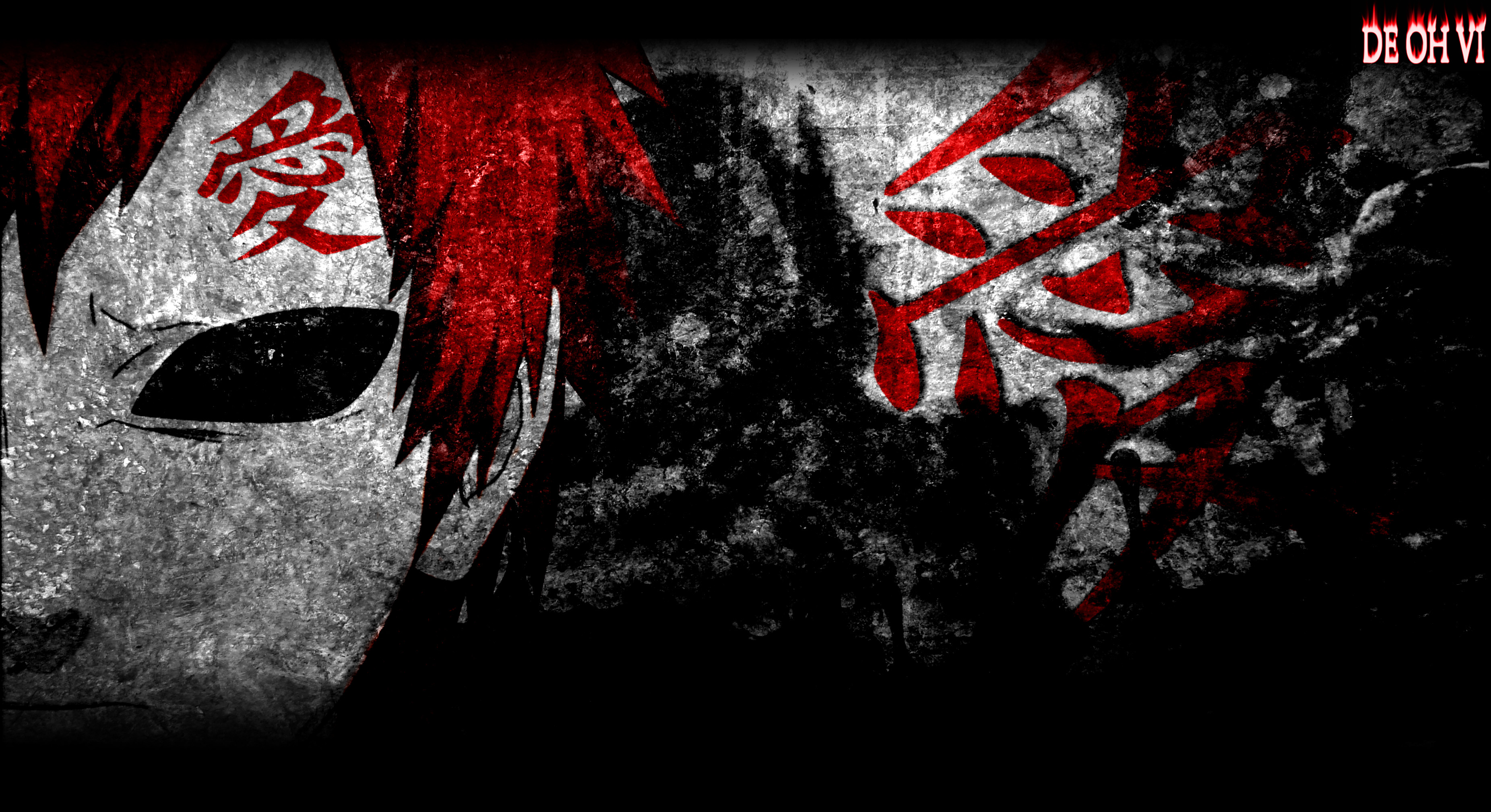 3704x2018 gaara wallpaper by DEOHVI gaara wallpaper by DEOHVI