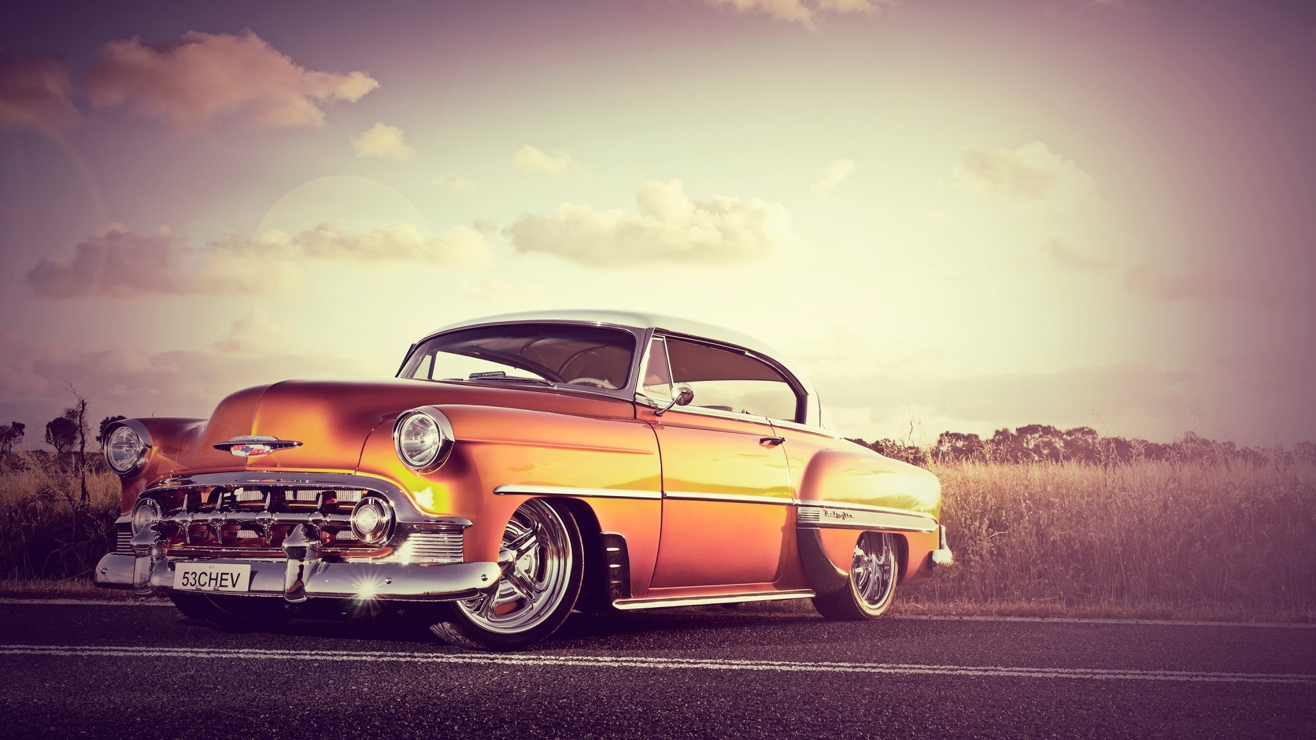 1920x1080 Old Classic Chevy Desktop Background. Download  ...