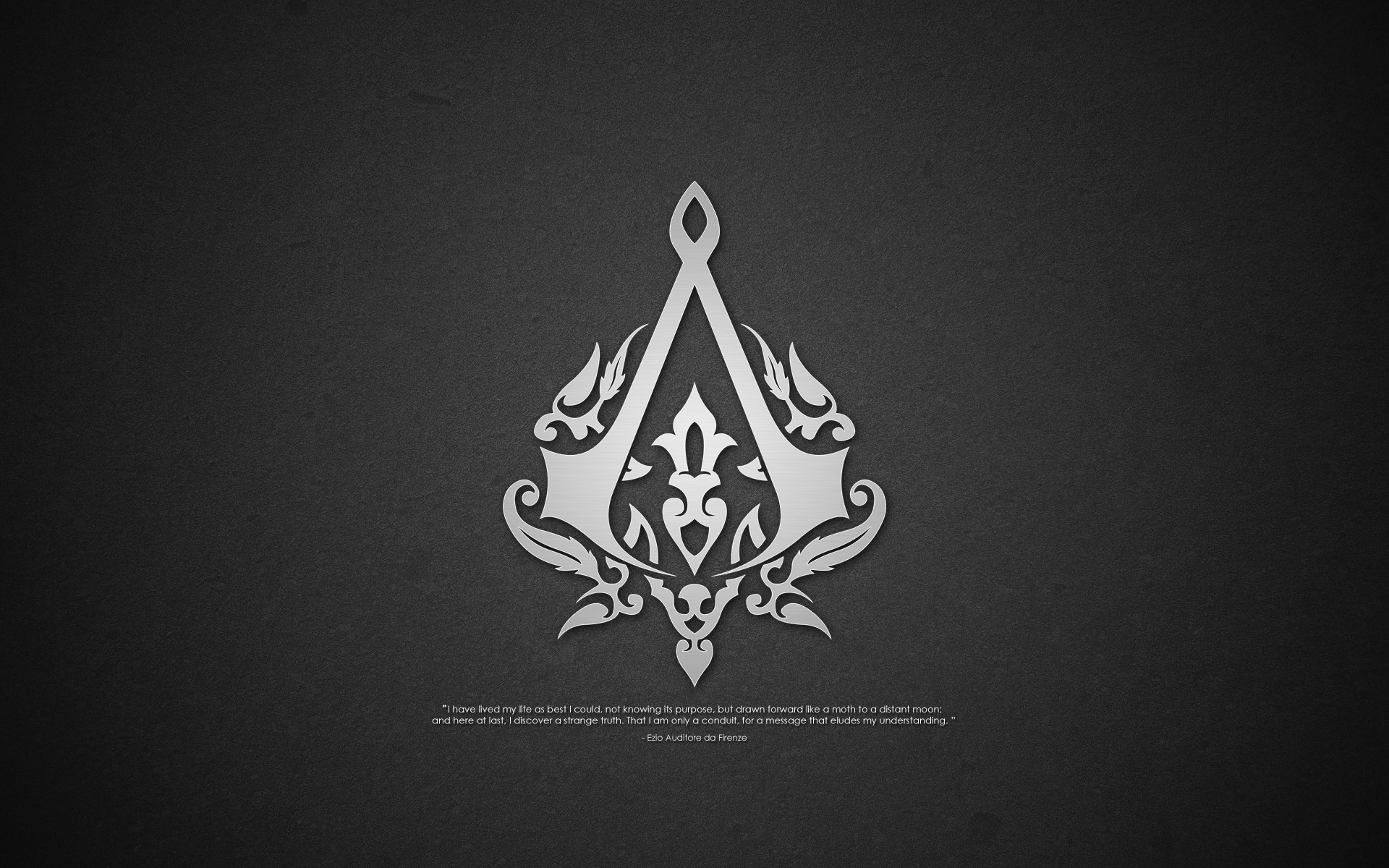 1920x1200 Assassins Creed Logo Wallpaper