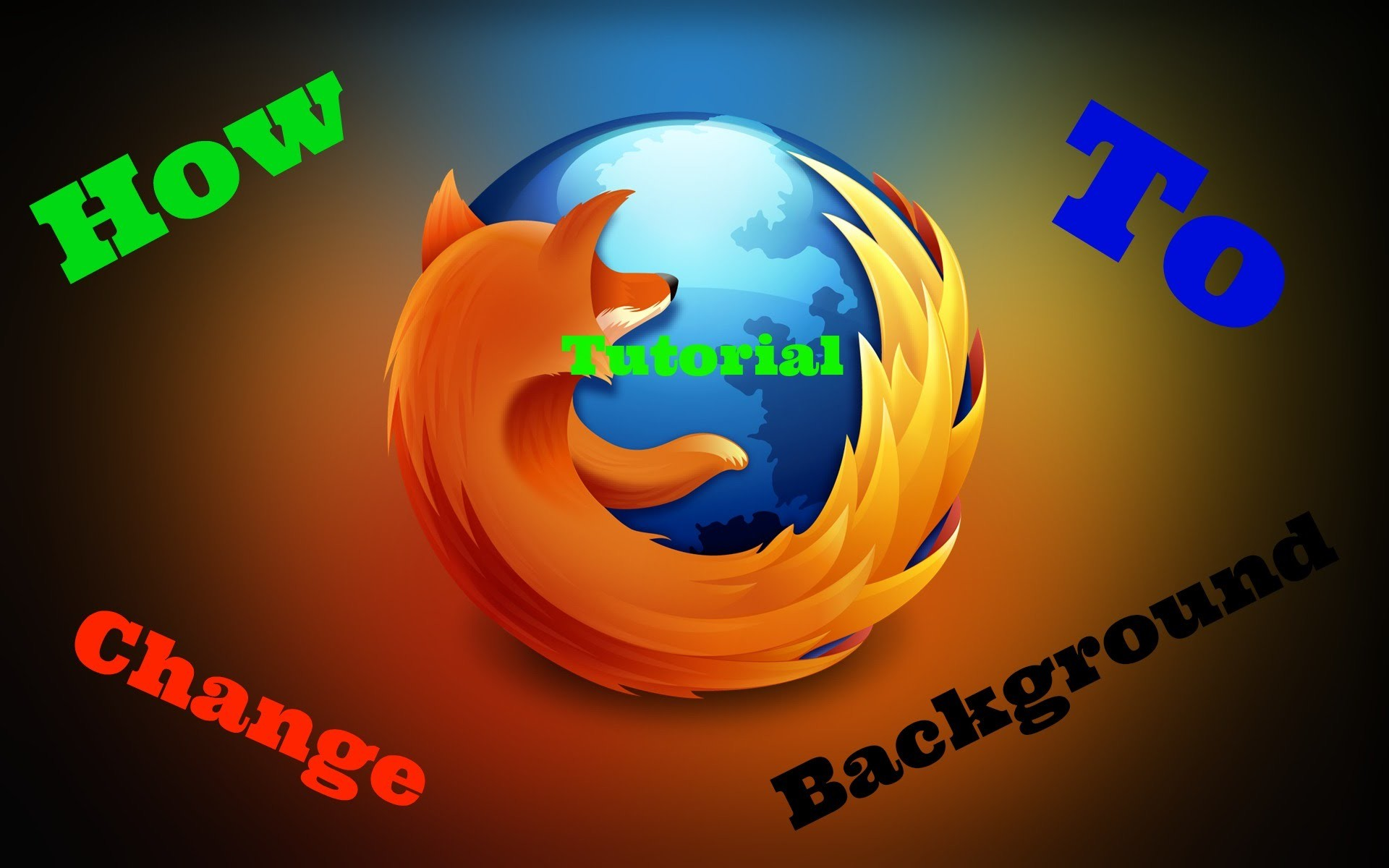 1920x1200 How To Change FireFox Browser Background! (Tutorial)
