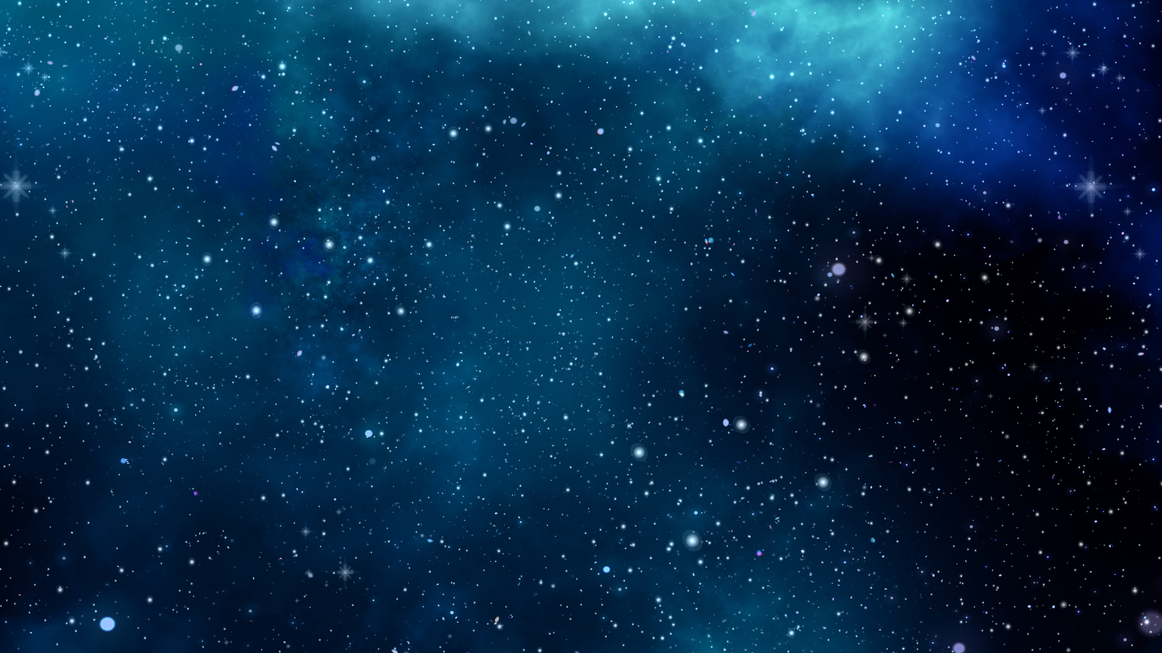 3840x2160 Blue Space 4K Wallpaper Download Blue Space 4K Wallpaper Download