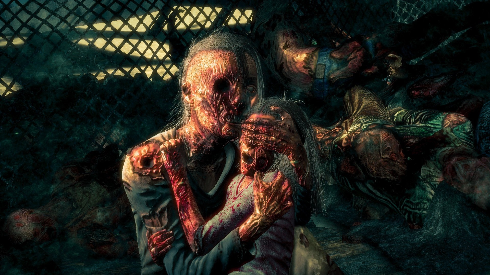 Cool zombie wallpapers 59 images 1920x1140 1920x1140 romantically apocalyptic zombie window fantasy dark mask wallpaper download voltagebd Gallery