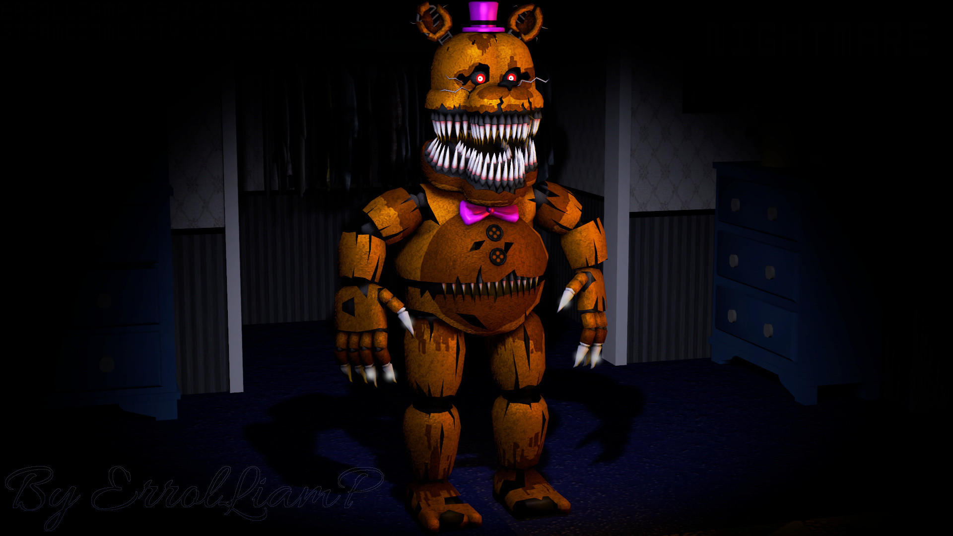 1920x1080 Nightmare, Fnaf, Horror Game, Freddy, Five Nights At Freddys, Five Nights
