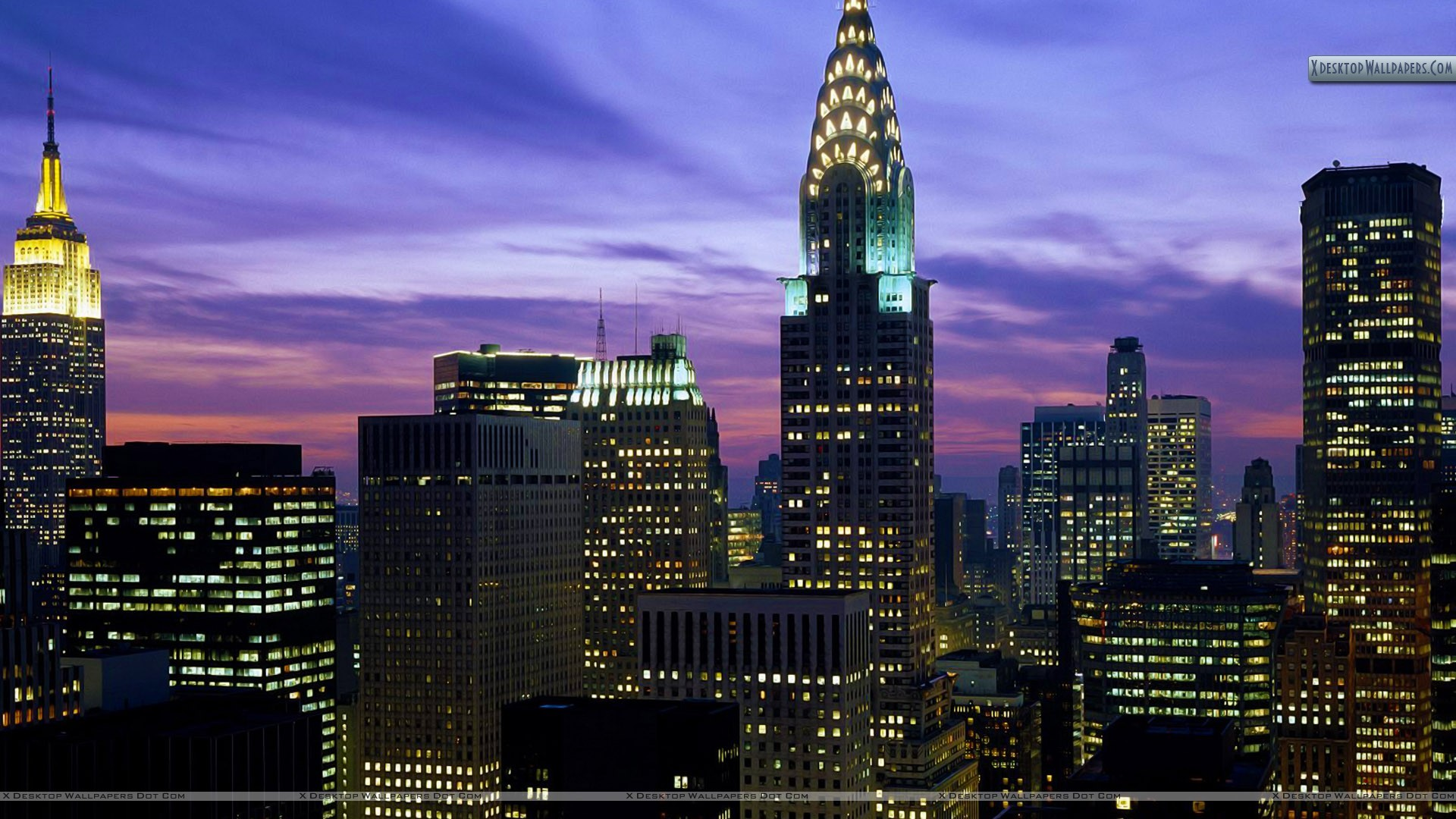 "1920x1080 You are viewing wallpaper titled ""Midtown Skyline, New York ..."