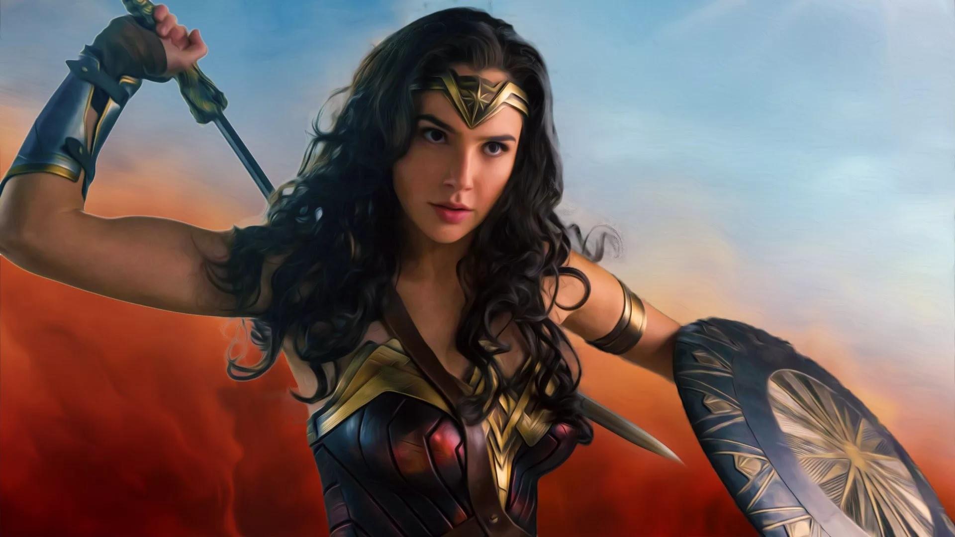 2017 Wonder Woman Movie Fan Art Hd Movies 4k Wallpapers: Wonder Woman Wallpapers (63+ Images