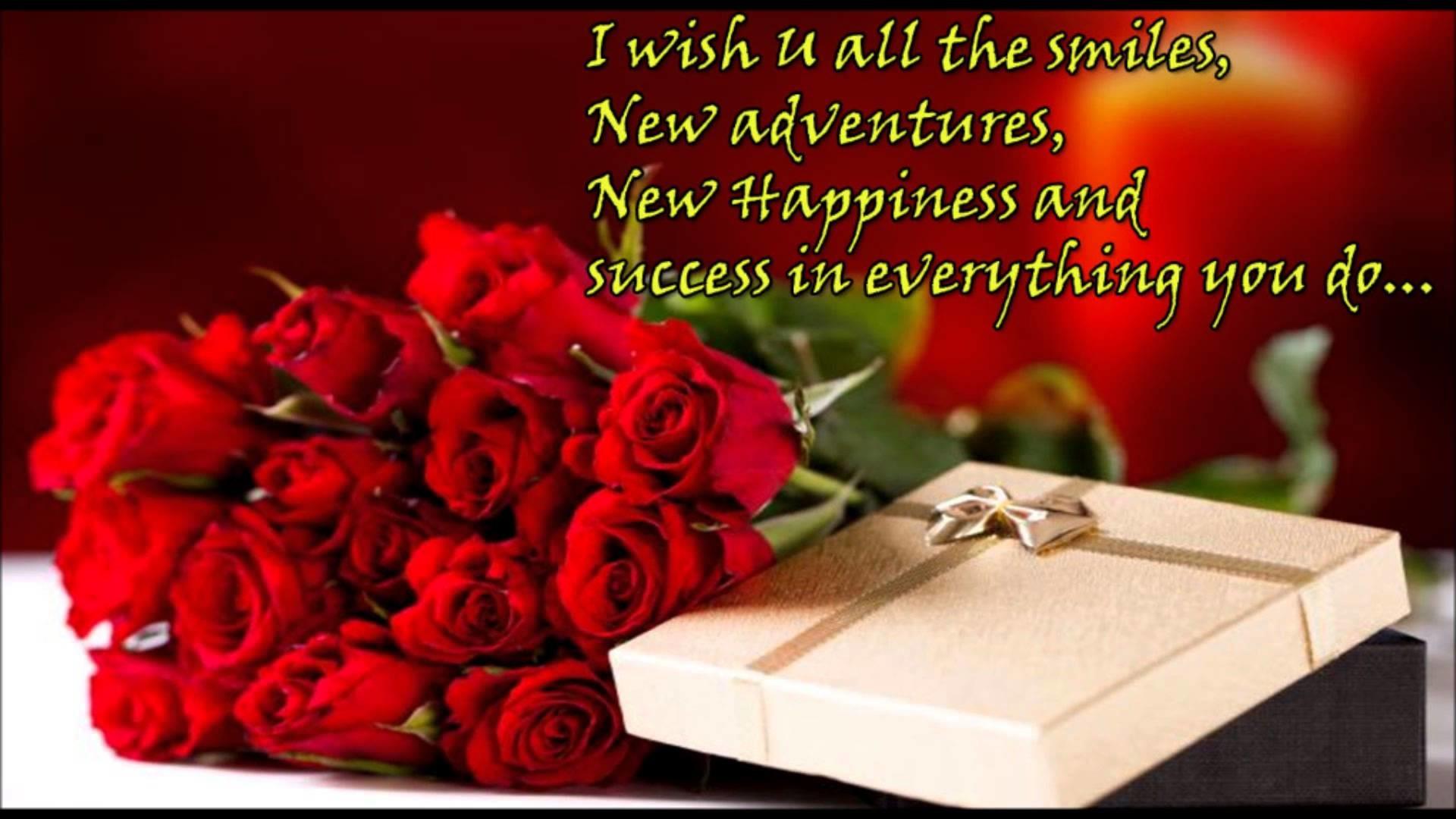 1920x1080 Happy Birthday Greetings To Fiance Wishes SMS