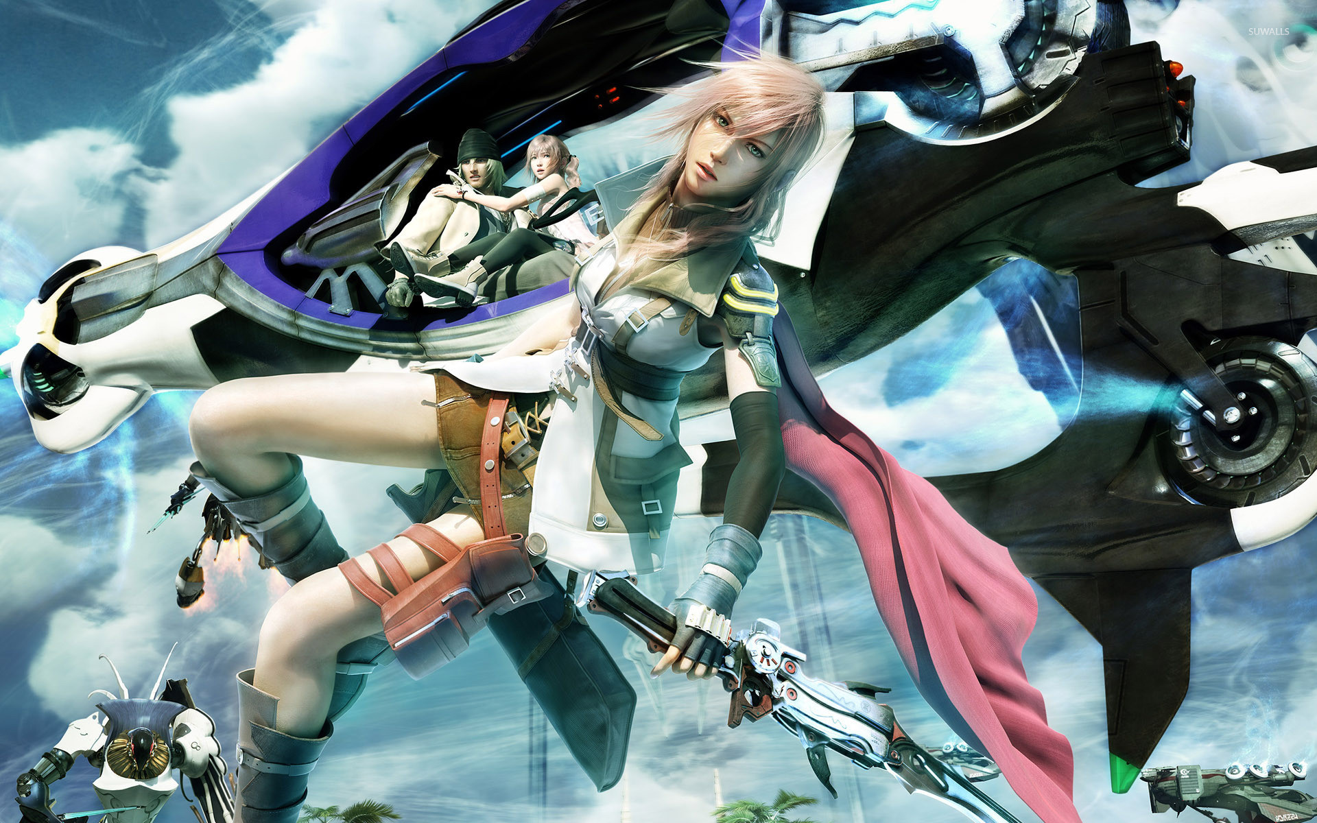1920x1200 Lightning - Final Fantasy XIII [3] wallpaper
