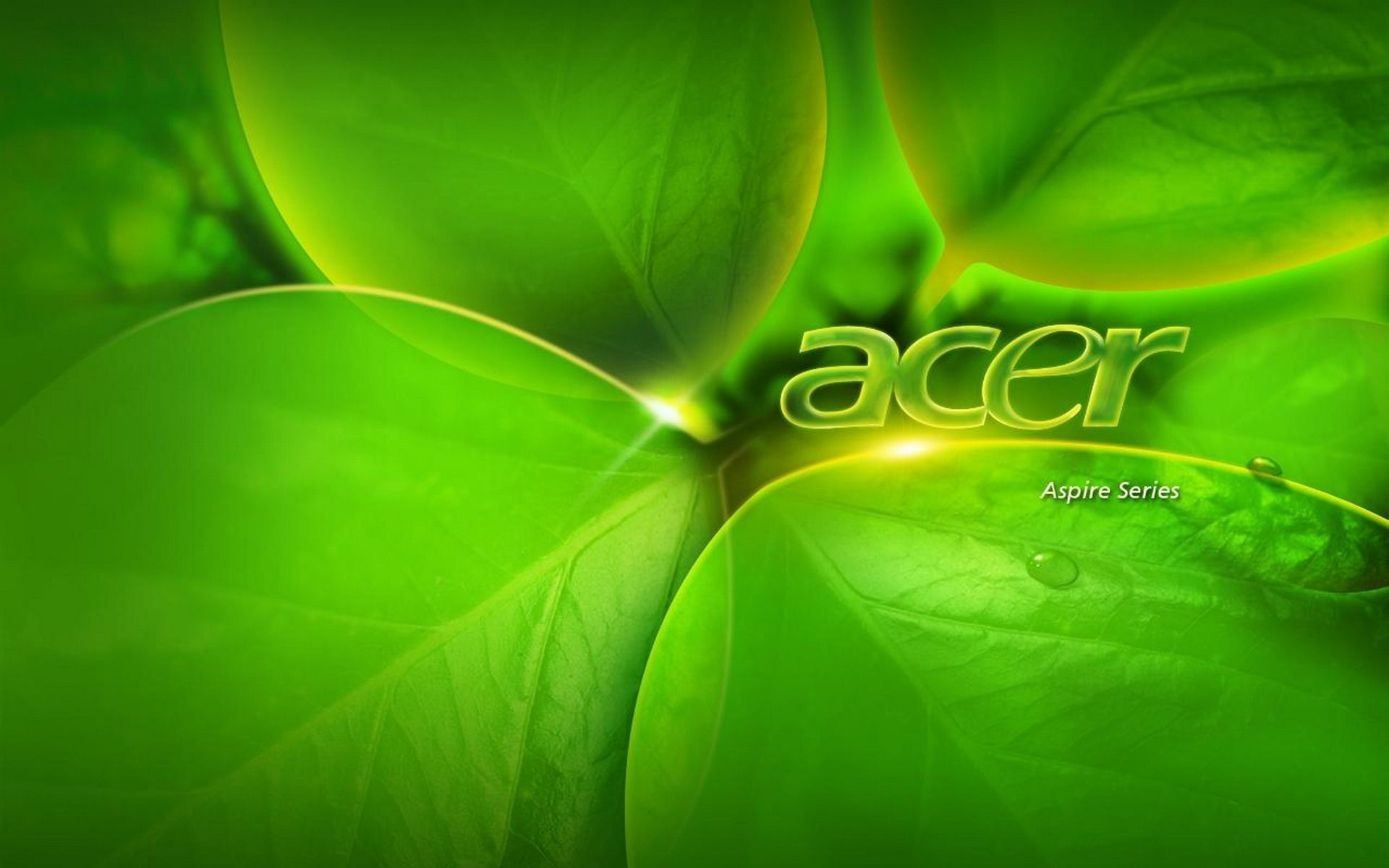1920x1200 Acer-series-green-background