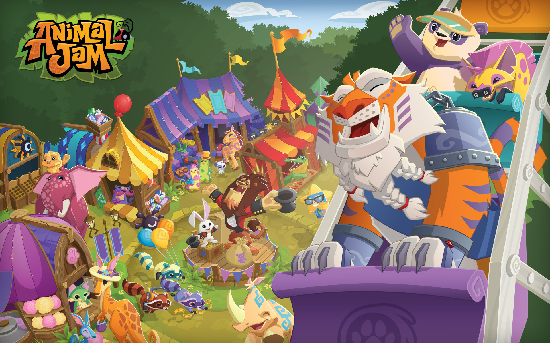 1920x1200 ANIMAL JAM | These neat wallpapers can be used for Bloger banners,  backgrounds .