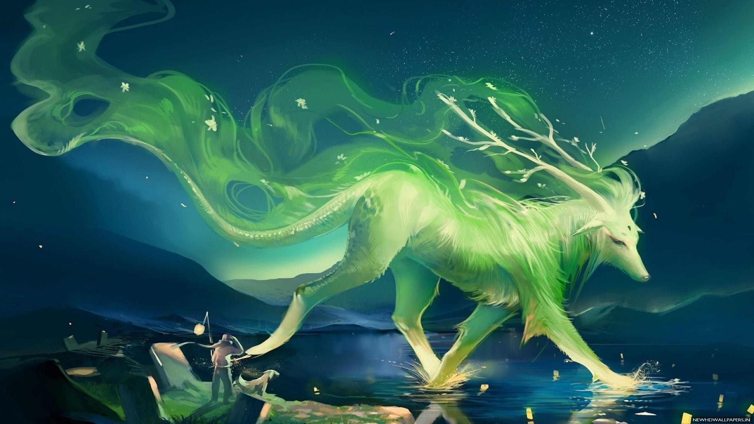 Fire And Ice Wolf Wallpaper 66 Images