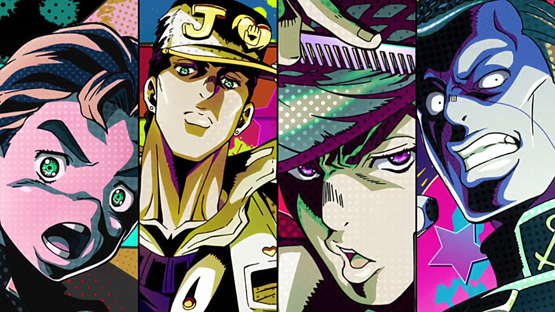1920x1080 879 Jojo's Bizarre Adventure HD Wallpapers | Backgrounds .