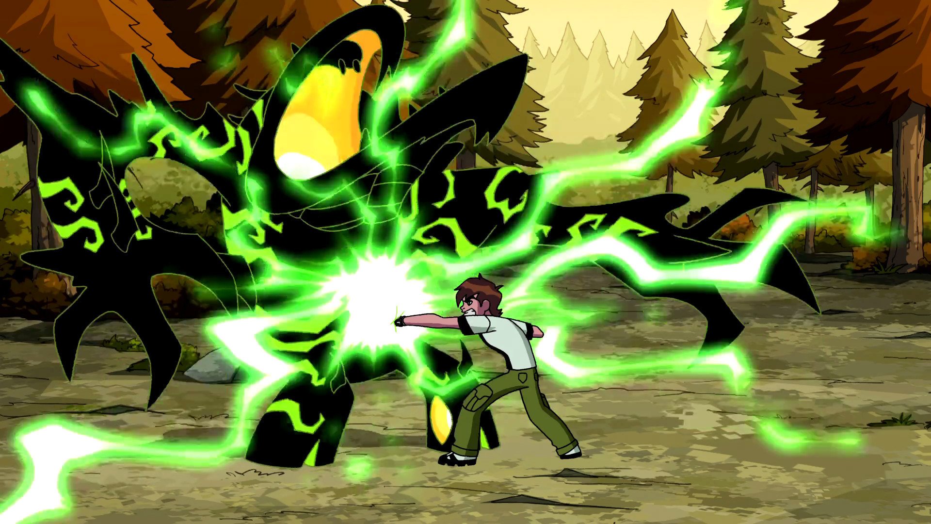 1920x1080  Image - Ben using his overloaded Omnitrix on Malware.png | Ben 10  Wiki | FANDOM powered by Wikia