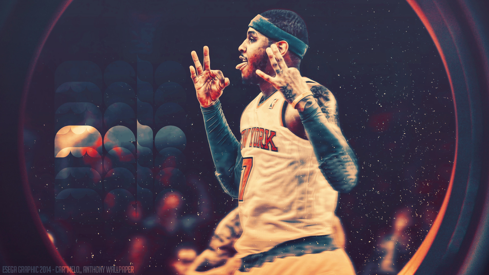 1920x1080 Carmelo Anthony Nyk Wallpaper - Version 2 by EsegaGraphic ... Carmelo  Anthony Wallpaper 2014