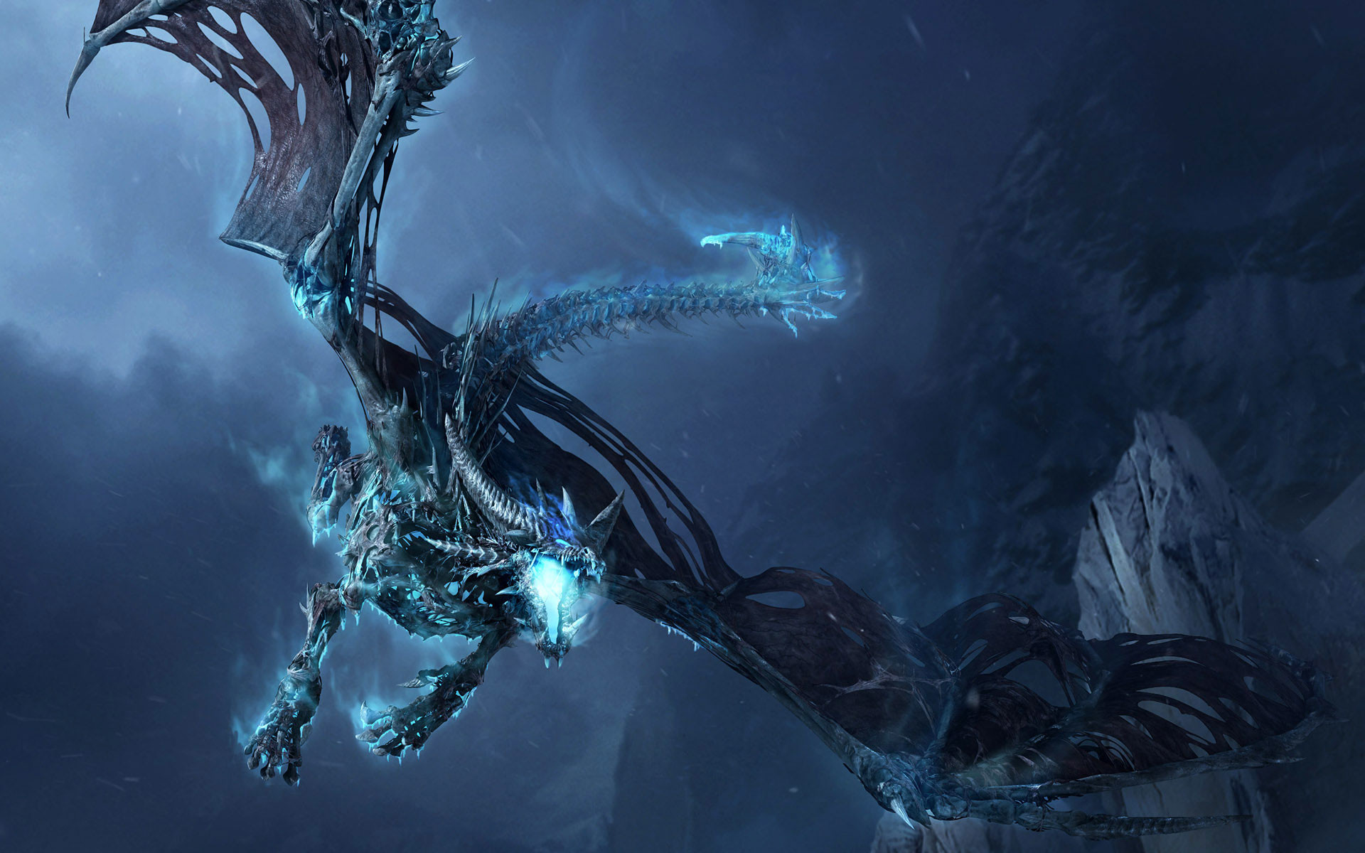 1920x1200 Frost-Dragon-Widescreen-Wallpaper