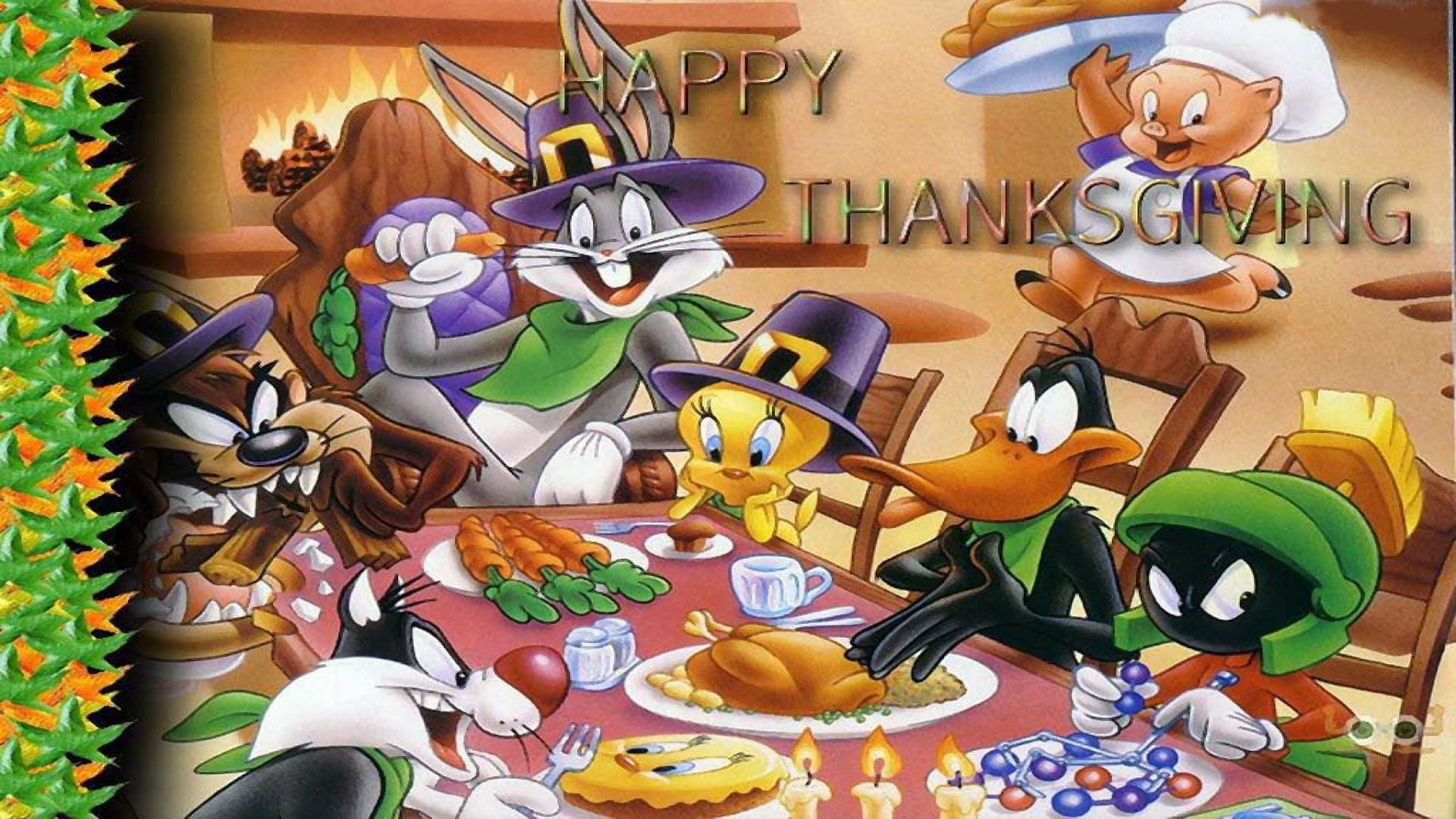 1920x1080 Thanksgiving Wallpapers Cartoon.