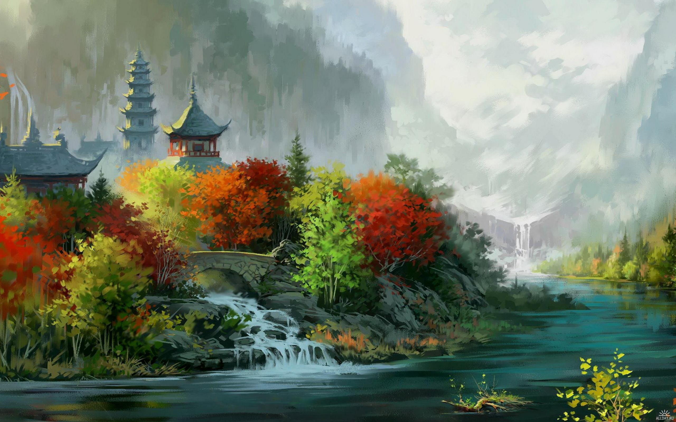 chinese landscape wallpaper (71+ images)