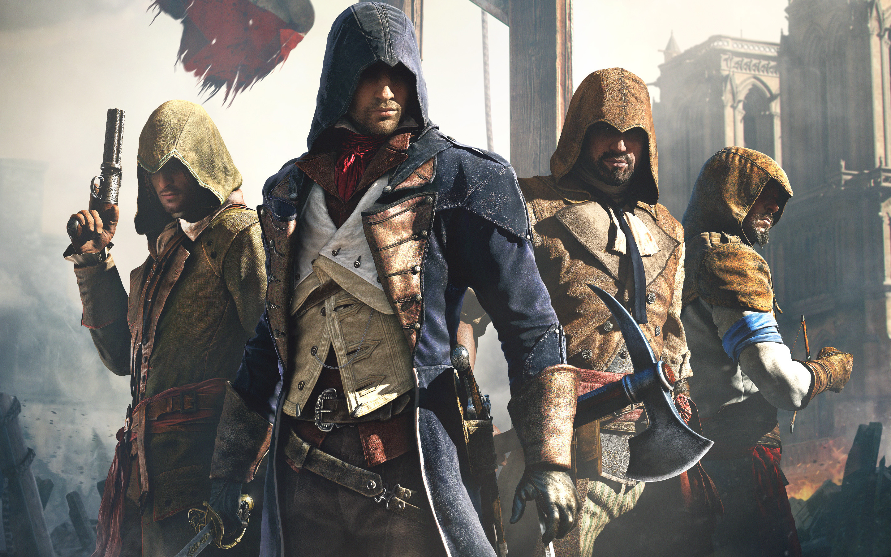 2880x1800 Video Game - Assassin's Creed: Unity Wallpaper