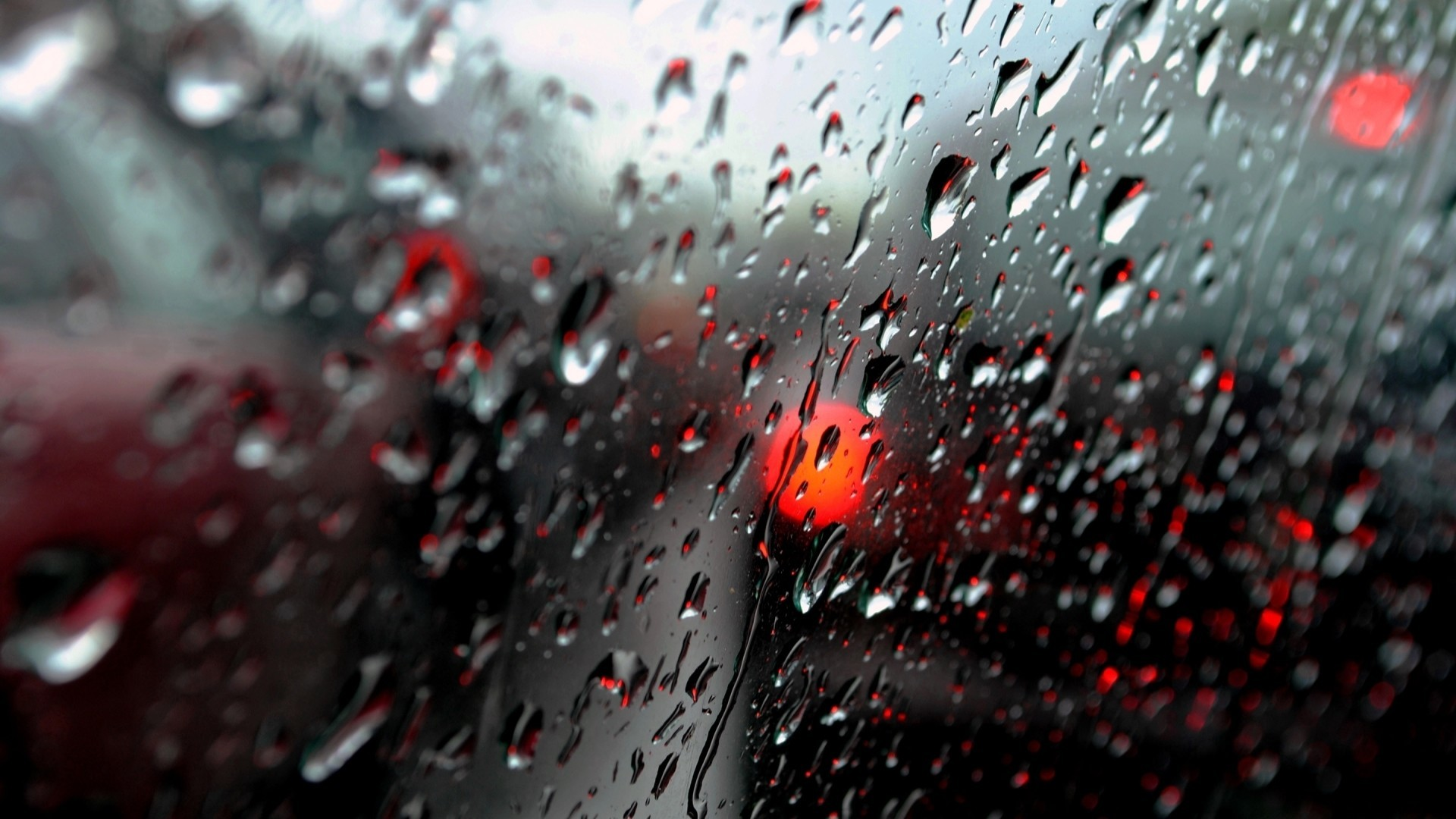 1920x1080  Window Drops Glass Rain Storm Wallpaper  340x220