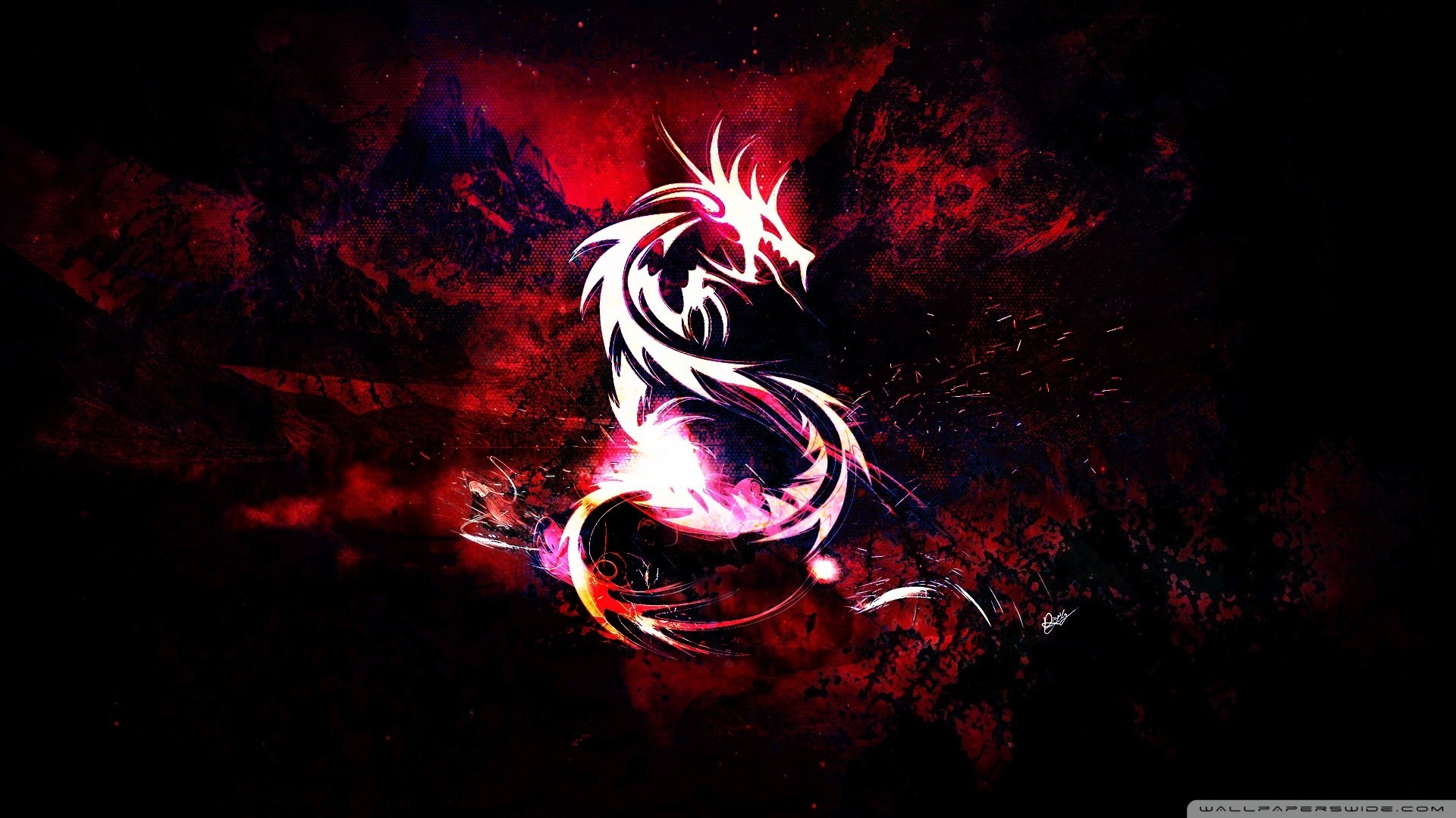 1920x1080  BLACK DRAGON WALLPAPER - (#28161) - HD Wallpapers .