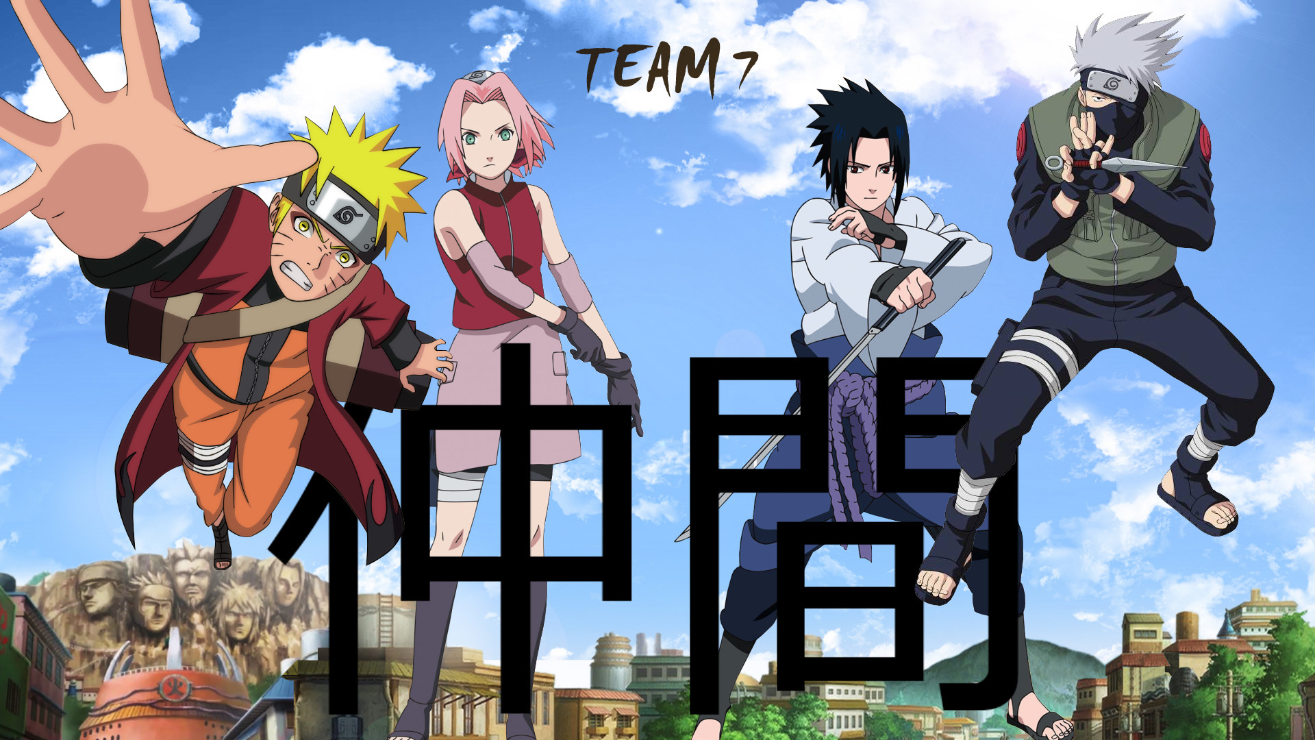 1104946 naruto team 7 wallpapers 1920x1080 for samsung