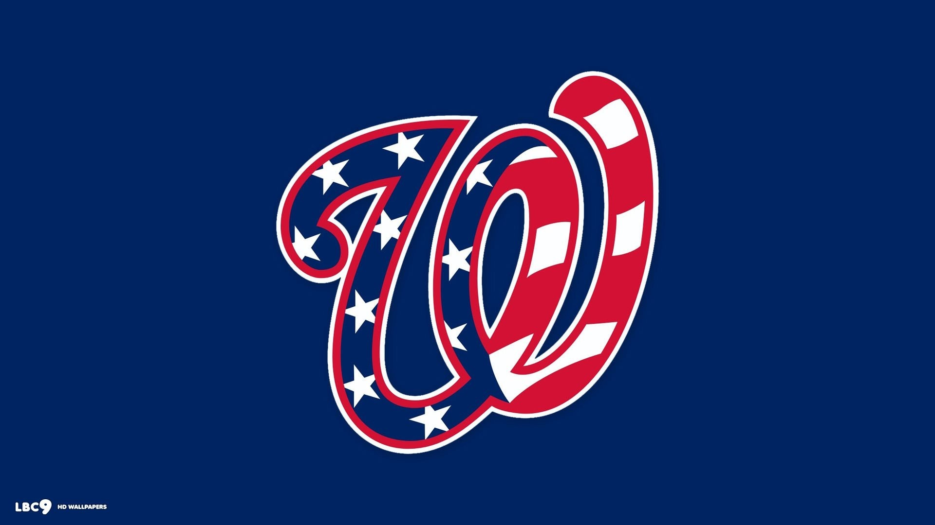 1920x1080 Washington Nationals Logo