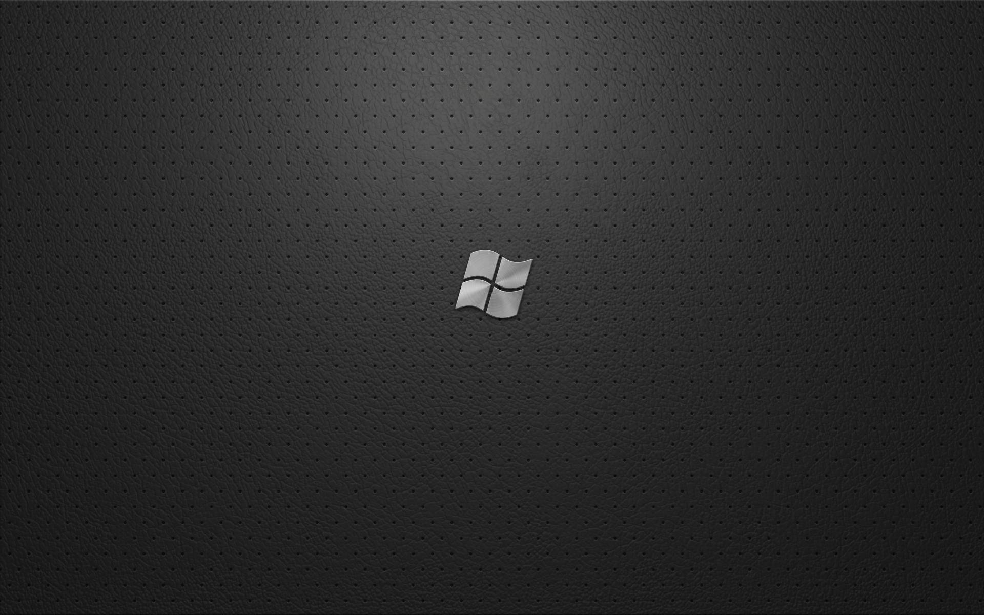 1920x1200 Windows 7 Black High Quality Wallpaper