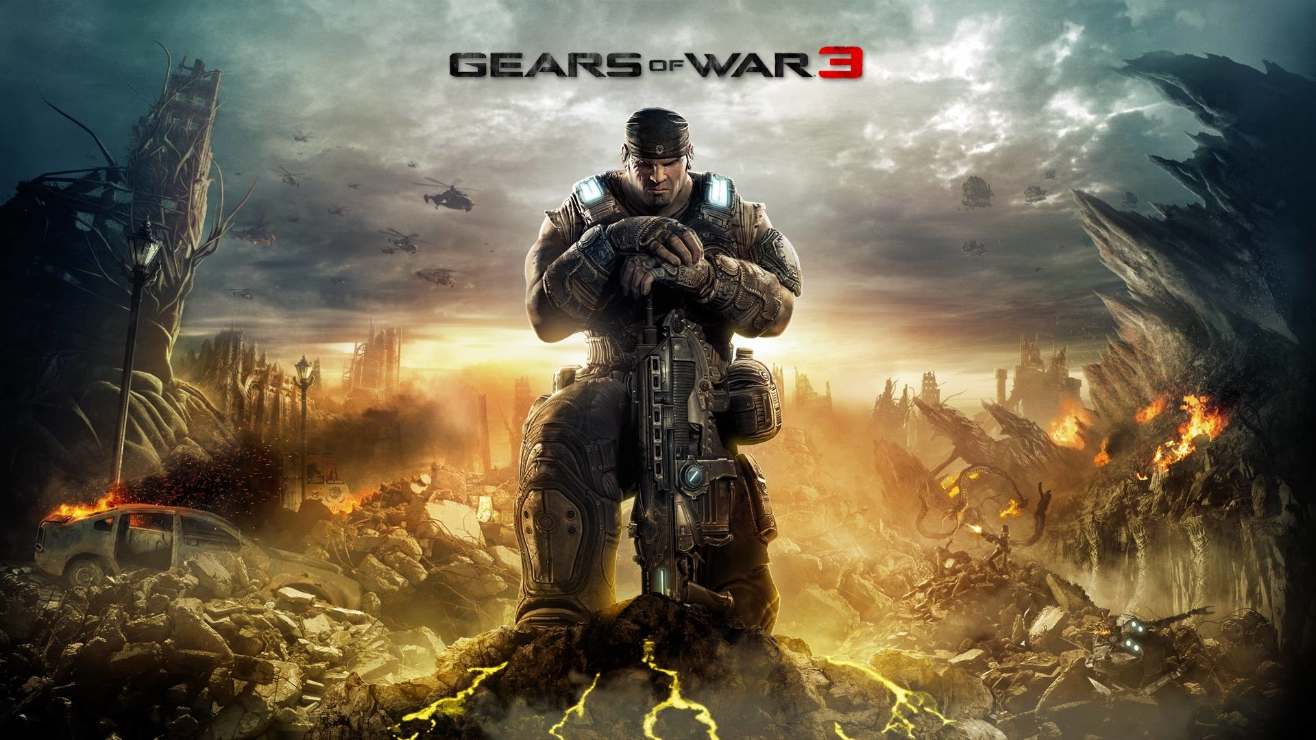 1920x1080 1920 × 1080 Gears Of War 3 Full HD Game Wallp #600 HD Game .