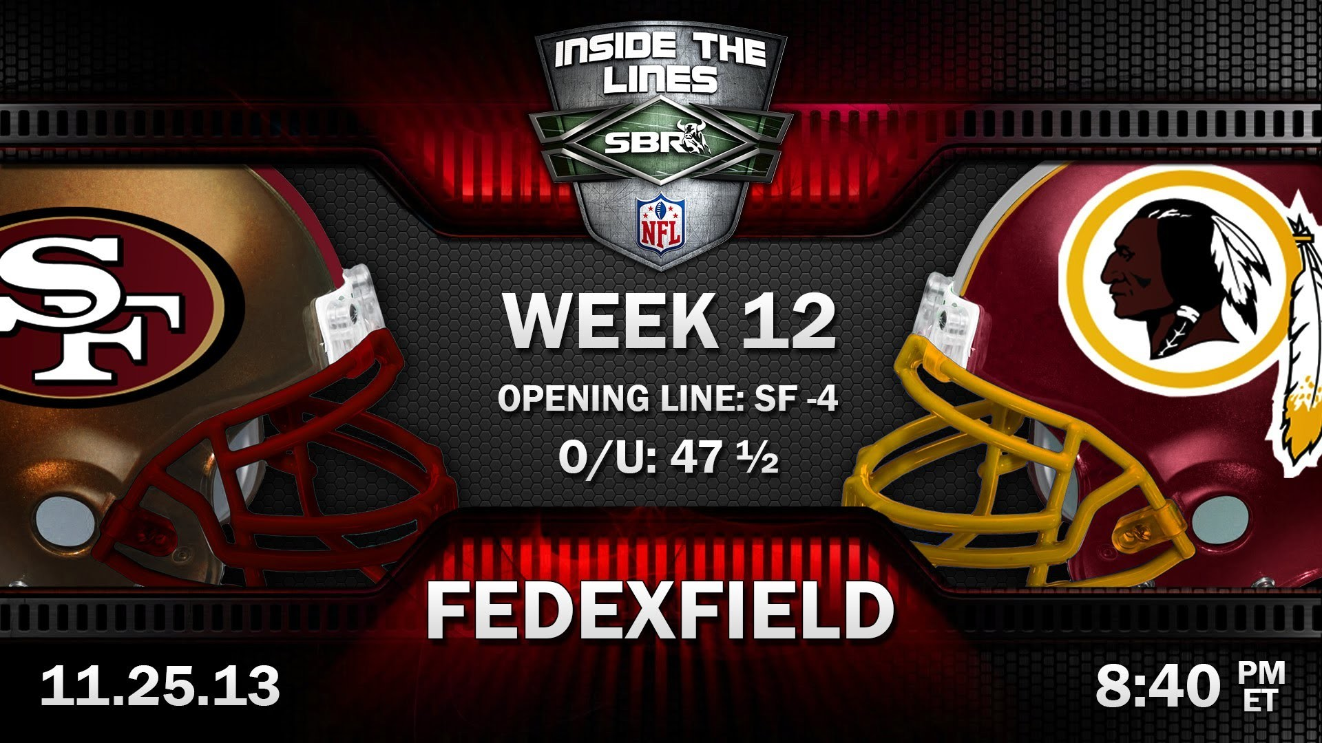1920x1080 San Francisco 49ers vs Washington Redskins NFL Week 12 Monday Night  Football Preview w/ Troy West