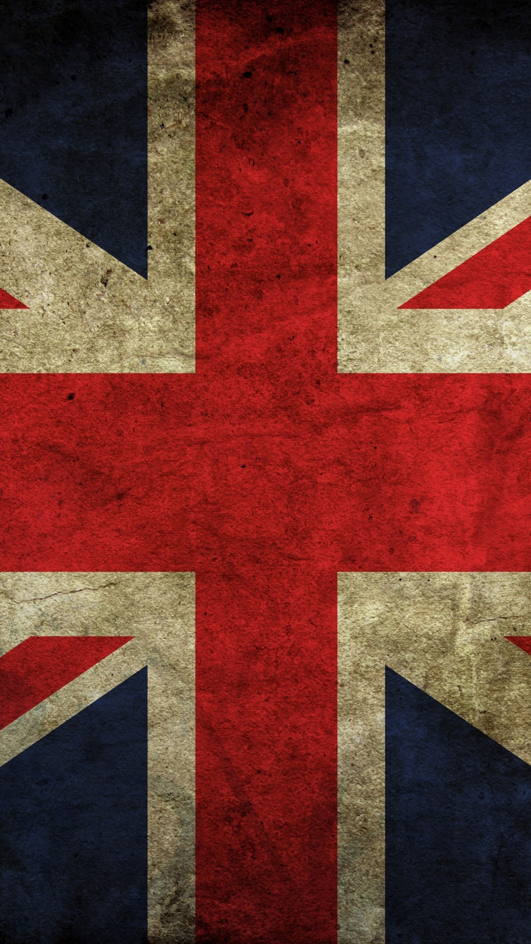 1080x1920 Preview wallpaper flag, britain, color, texture, background