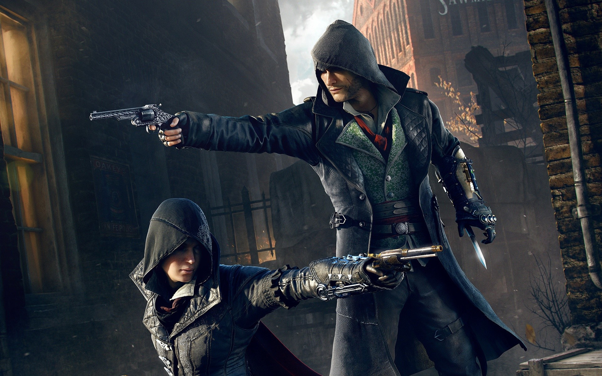1920x1200 Assassin's Creed Syndicate Twin Assassins Wallpapers