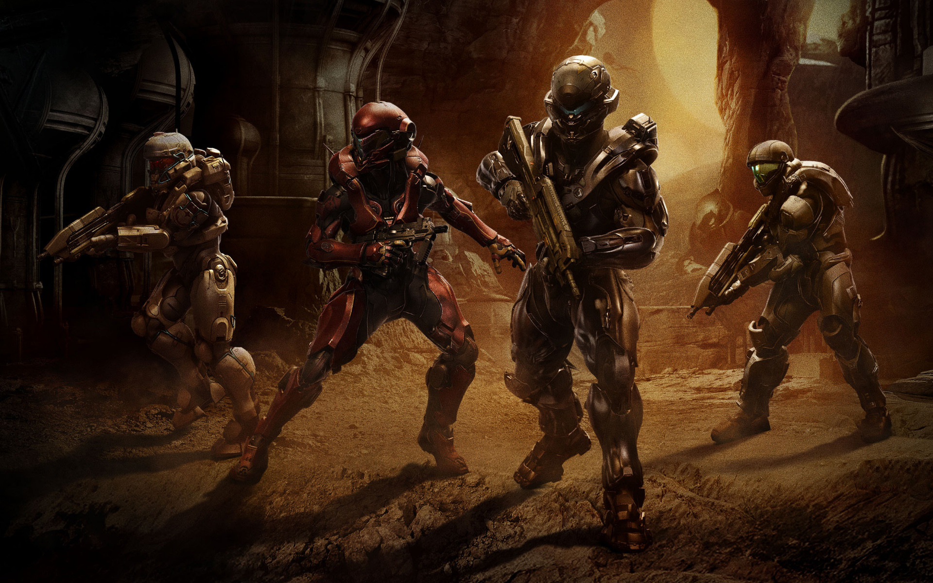 1920x1200 Watch The Halo 5: Guardians Official Launch Gameplay Trailer