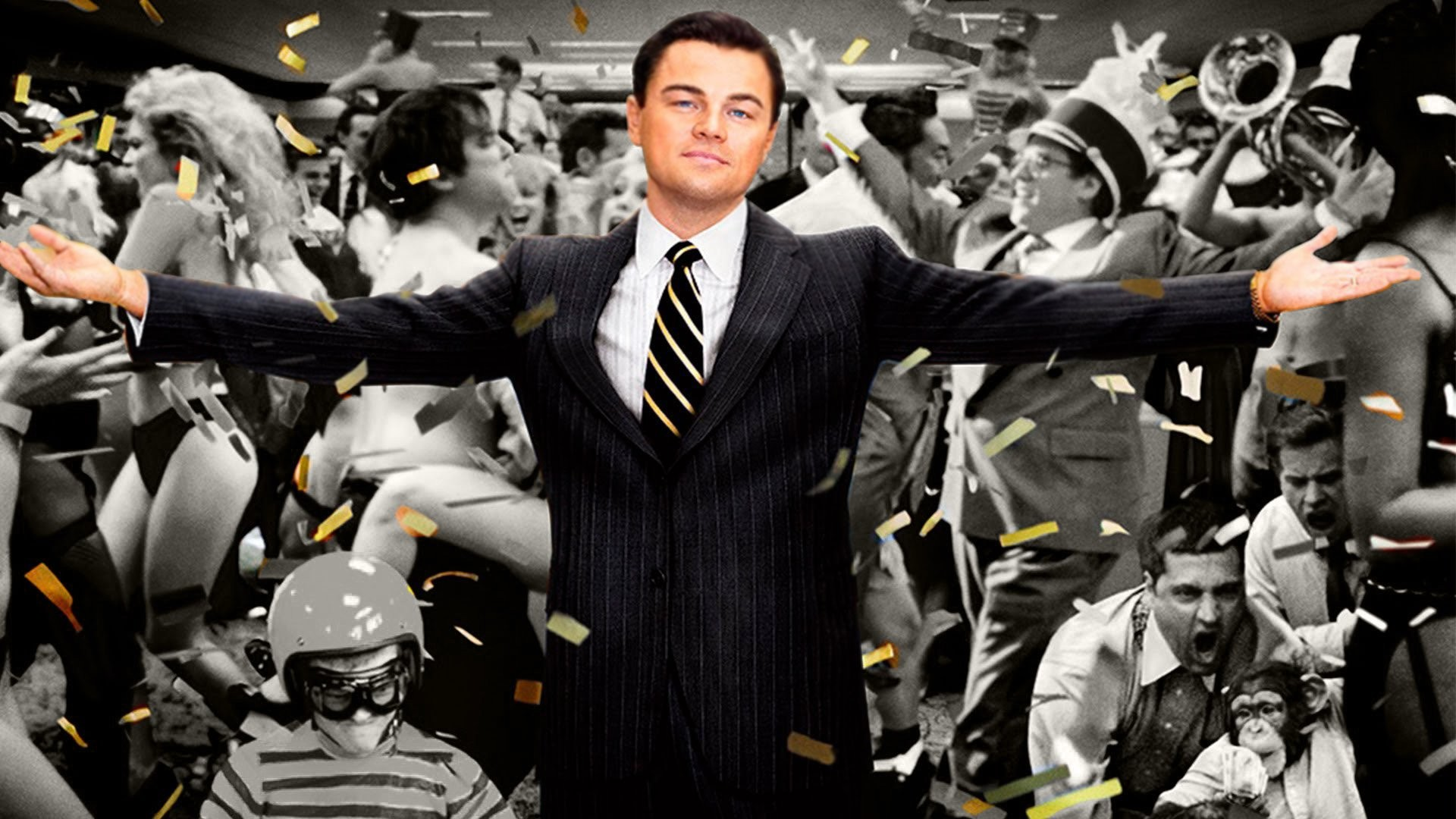 1920x1080 Movie - The Wolf of Wall Street Leonardo Dicaprio Wallpaper