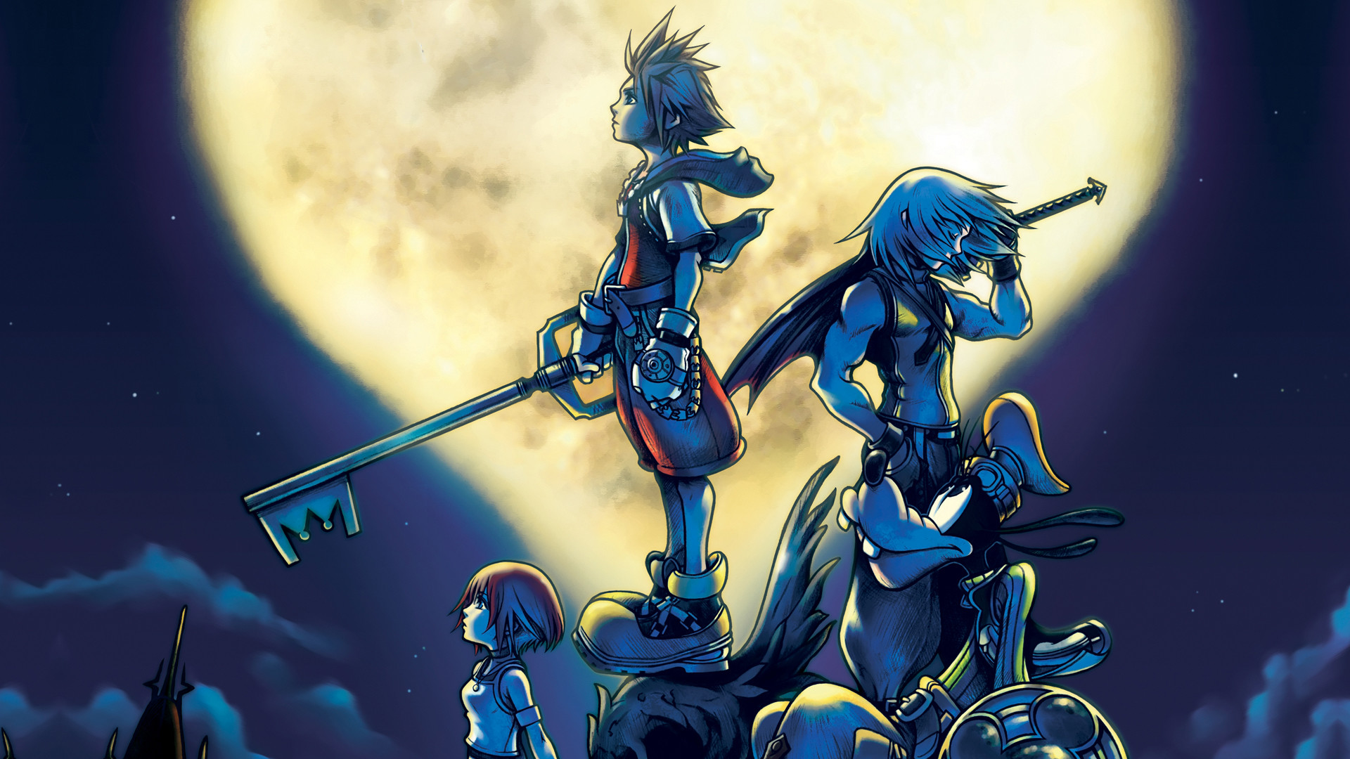 1920x1080 Kingdom Hearts Wallpaper