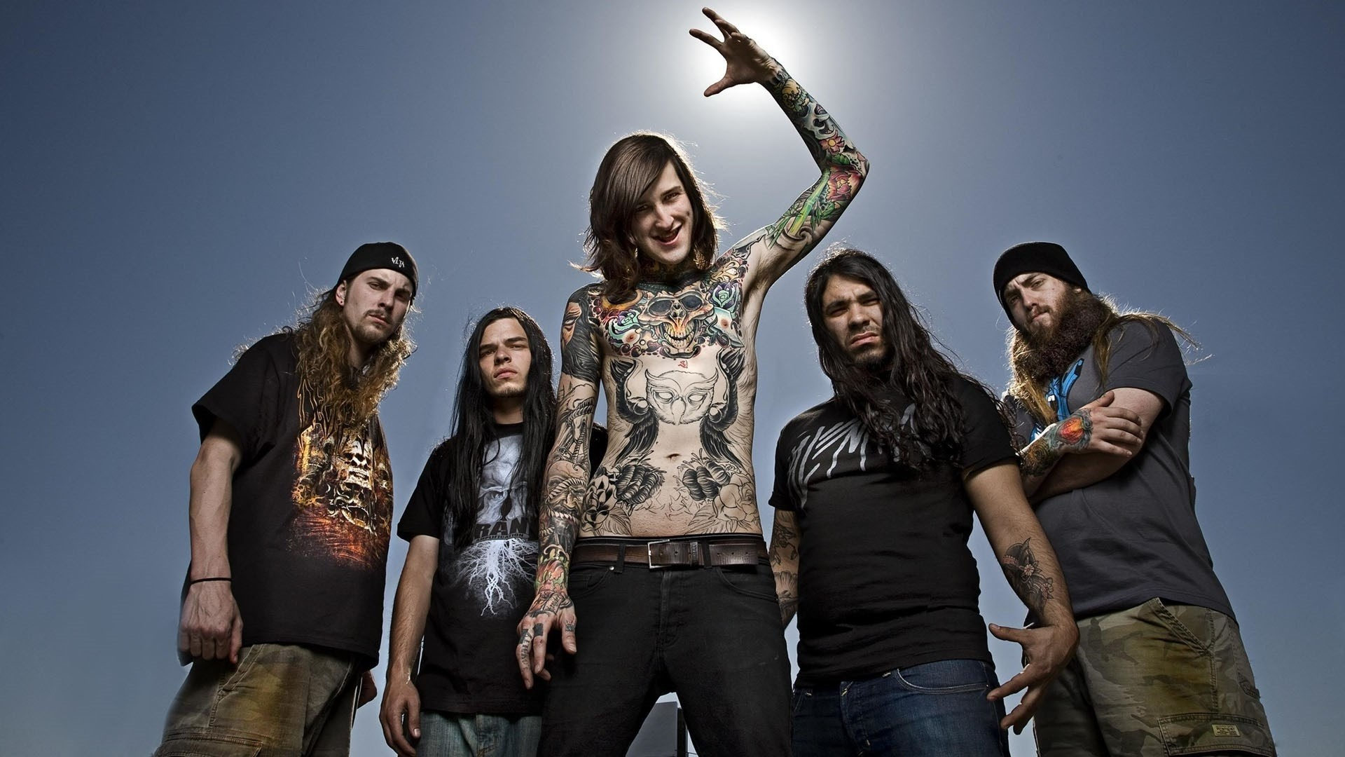 1920x1080 Suicide Silence, Mitch Lucker Wallpapers HD / Desktop and Mobile Backgrounds