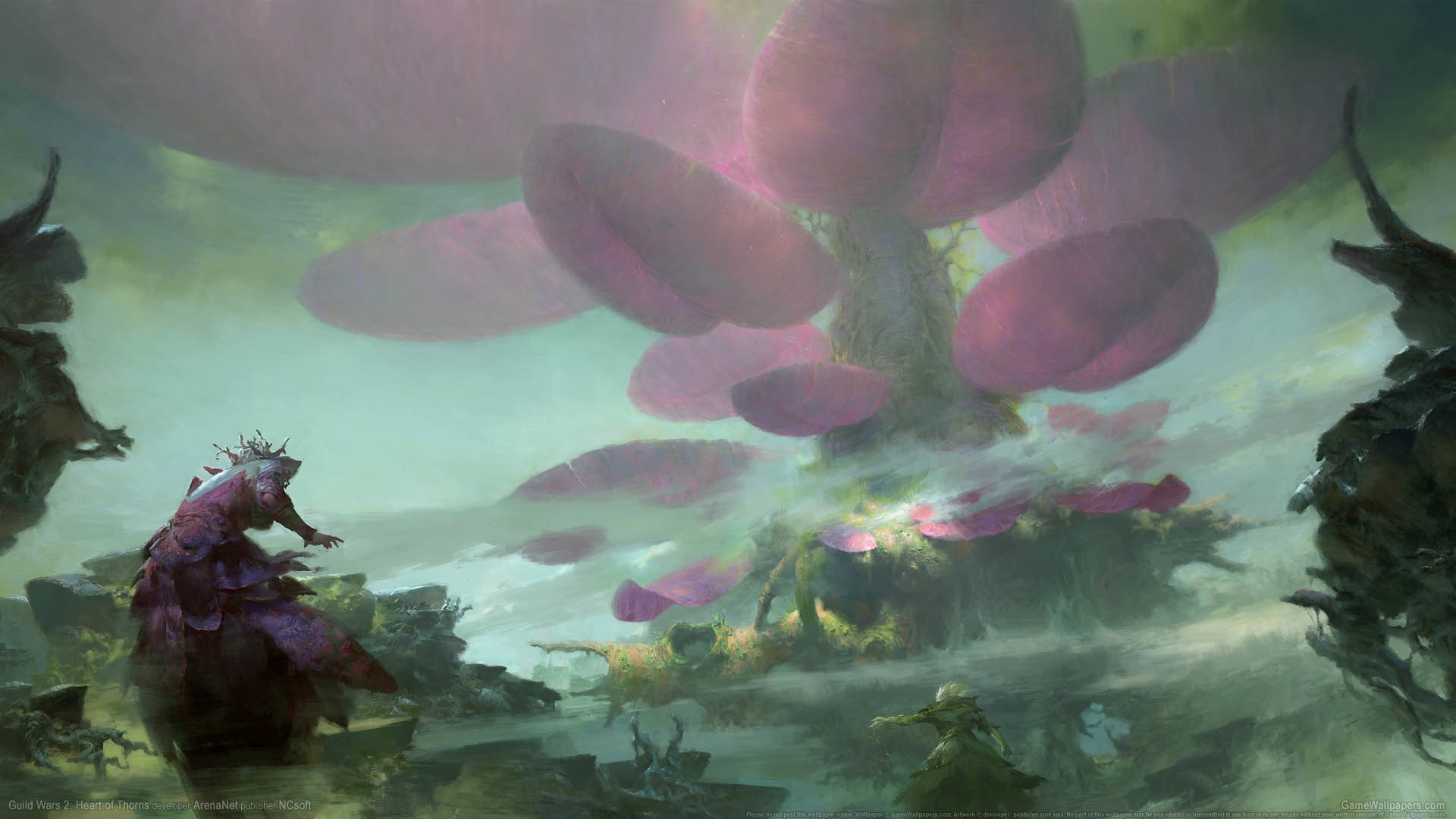 1920x1080 Guild Wars 2: Heart of Thorns Hintergrundbild 03