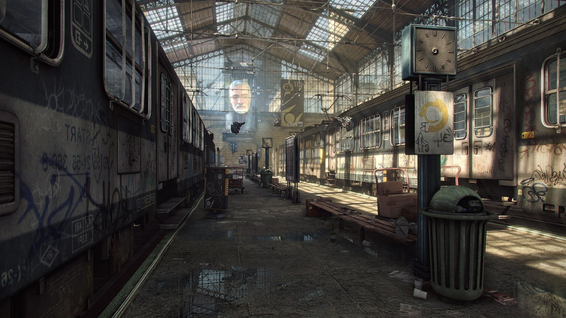 1920x1080 Unreal Engine 4, Half Life 2, Video Games, Apocalyptic, City 17 Wallpapers  HD / Desktop and Mobile Backgrounds