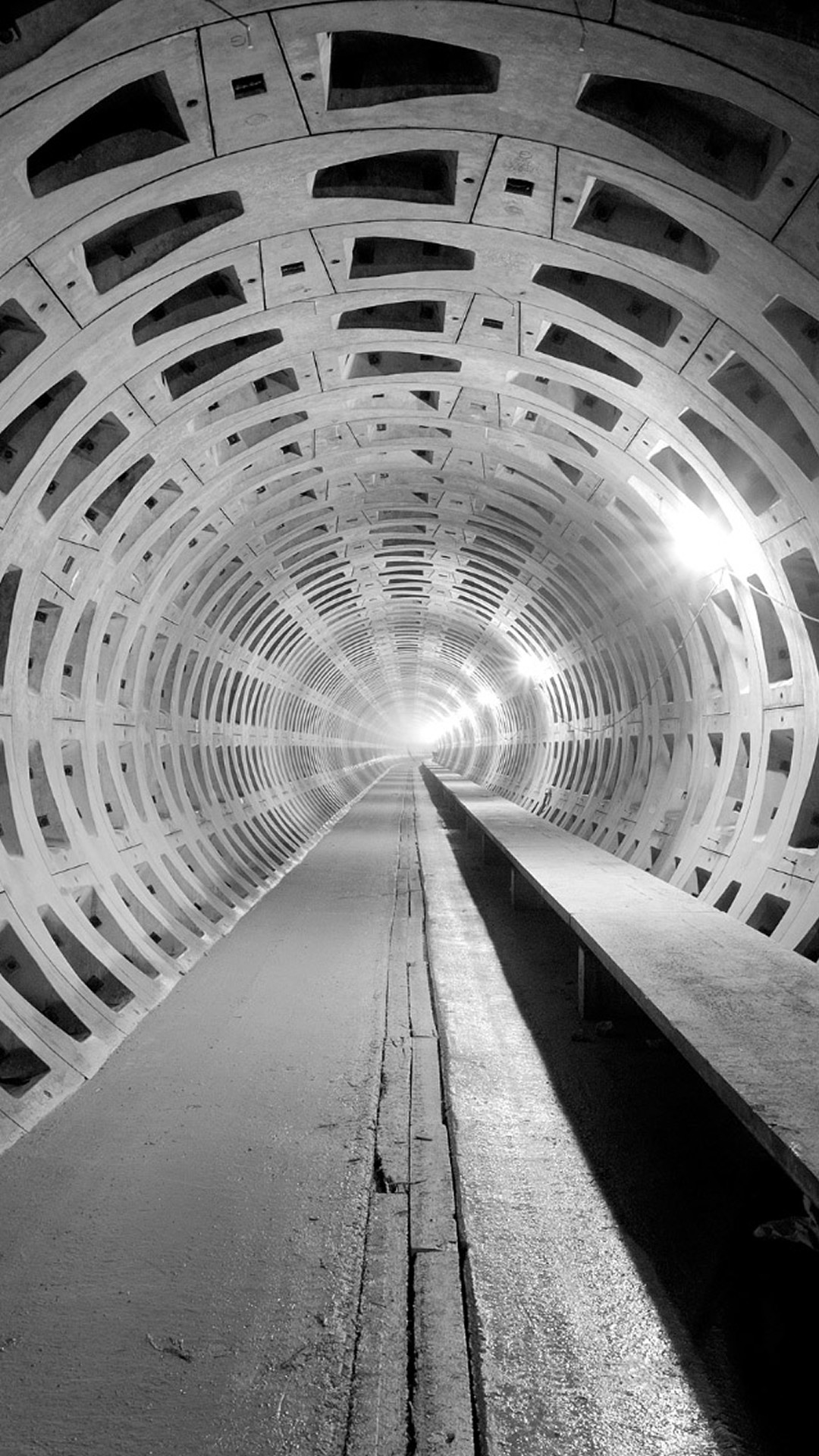 1080x1920 Underground Tunnel Construction #iPhone #6 #plus #wallpaper