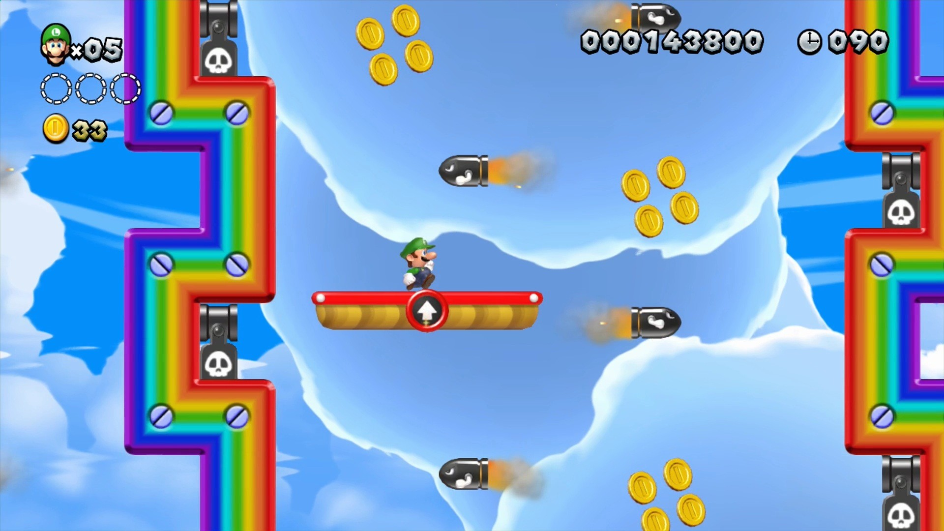 1920x1080 ... New Super Luigi U: Going up ...