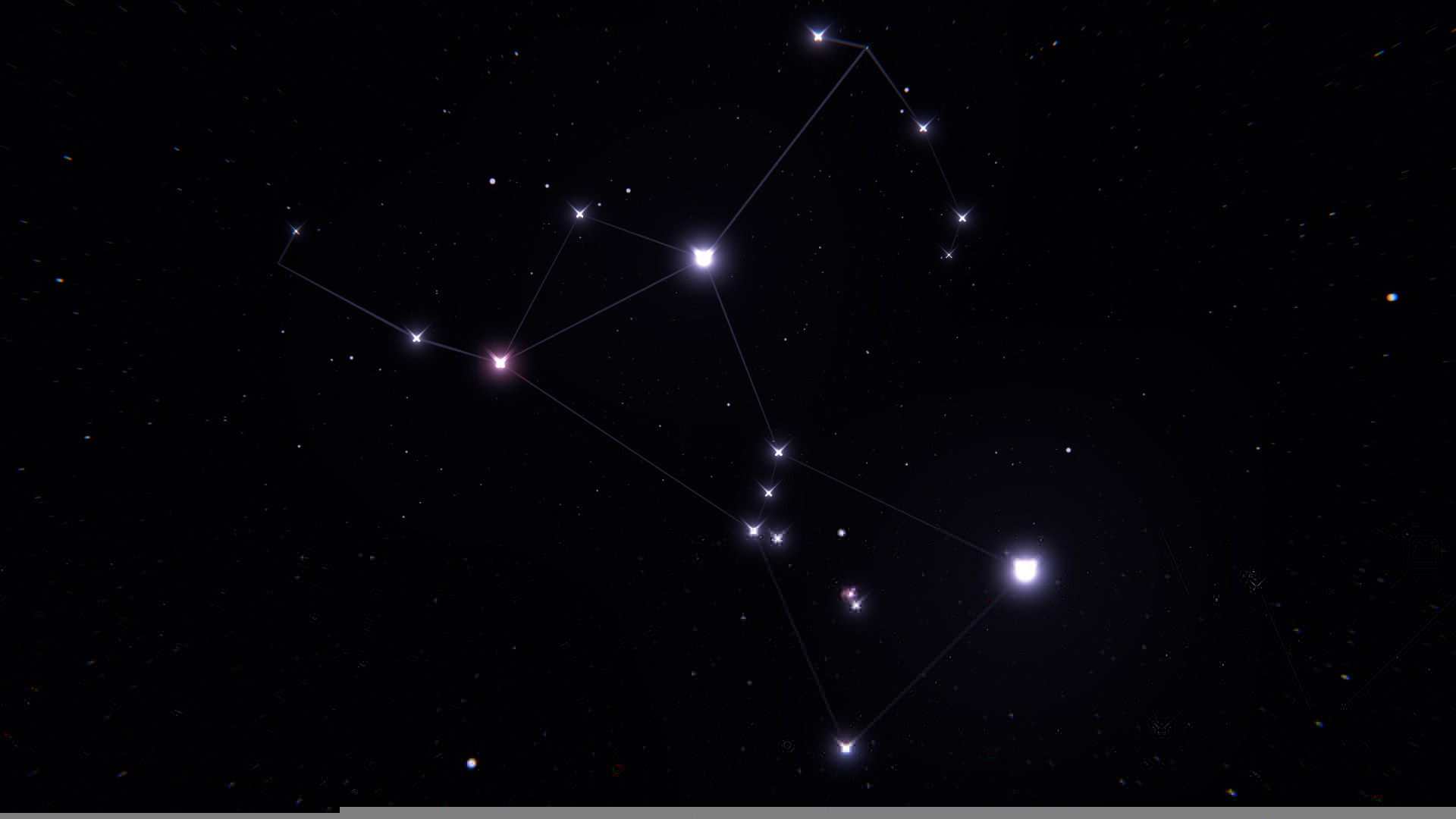 1920x1080 Wallpaper Orion Constellation Stars Space Wallpapers