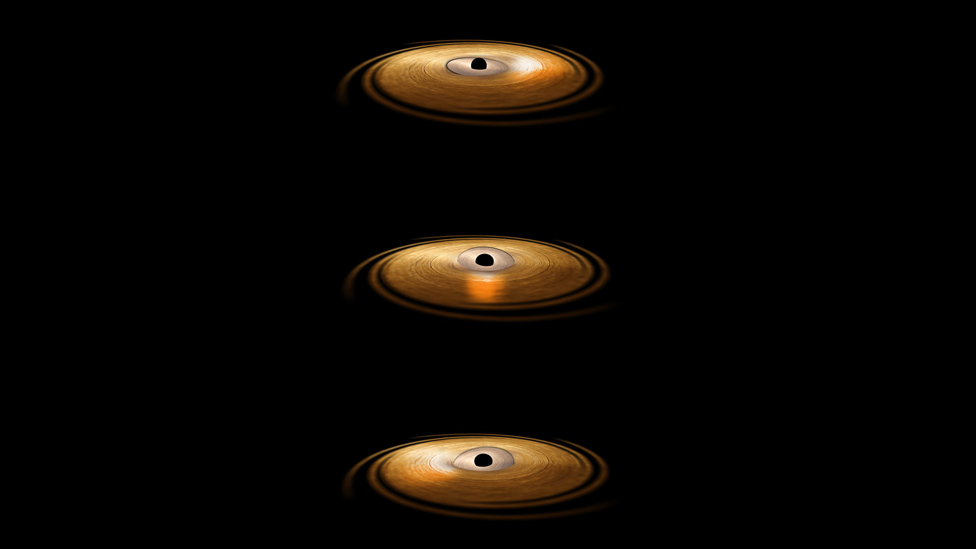 "1920x1080 Astronomers Prove the Existence of a ""Gravitational Vortex"" Around a Black  Hole"