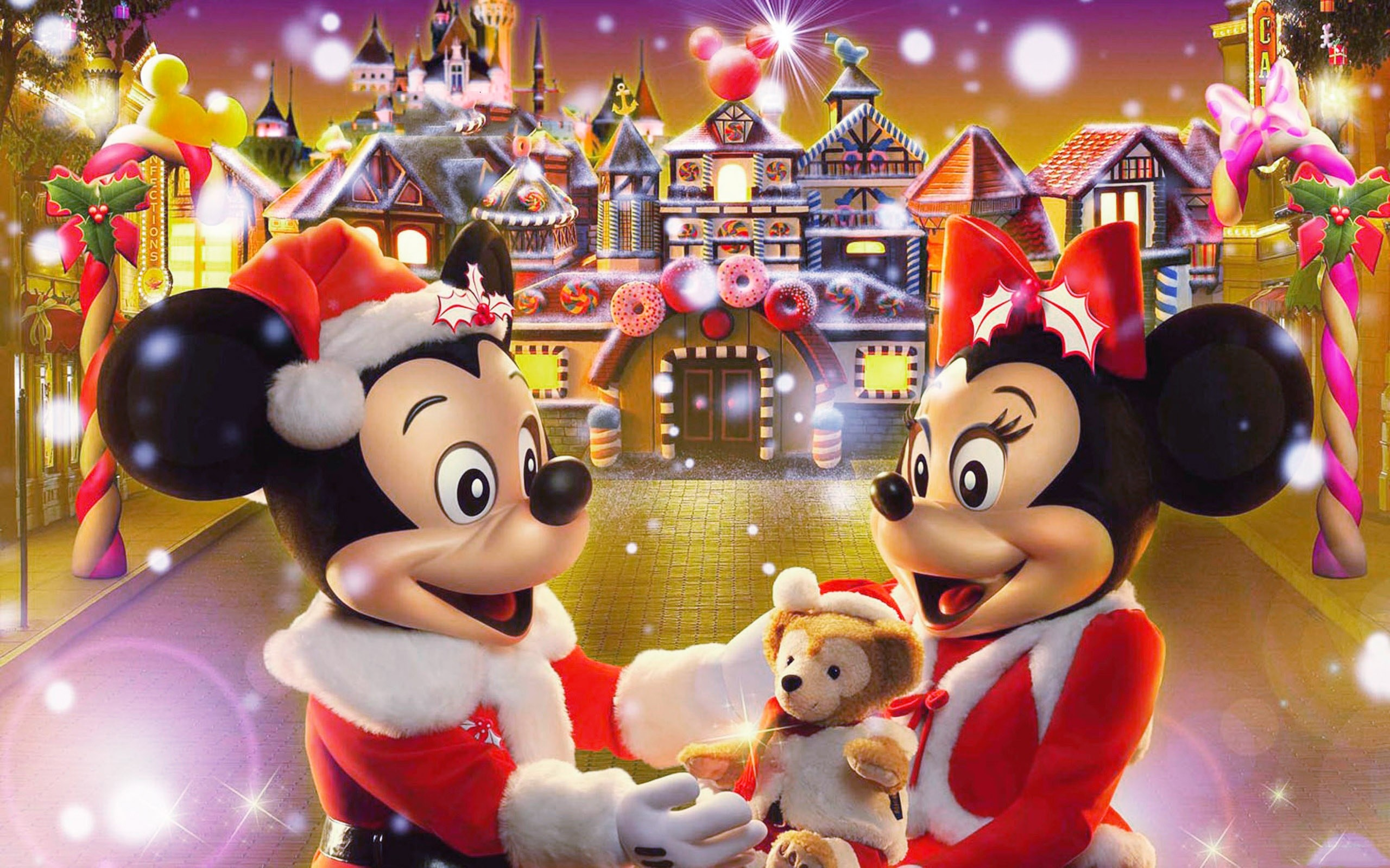 Disney Christmas Wallpaper And Screensavers 57 Images
