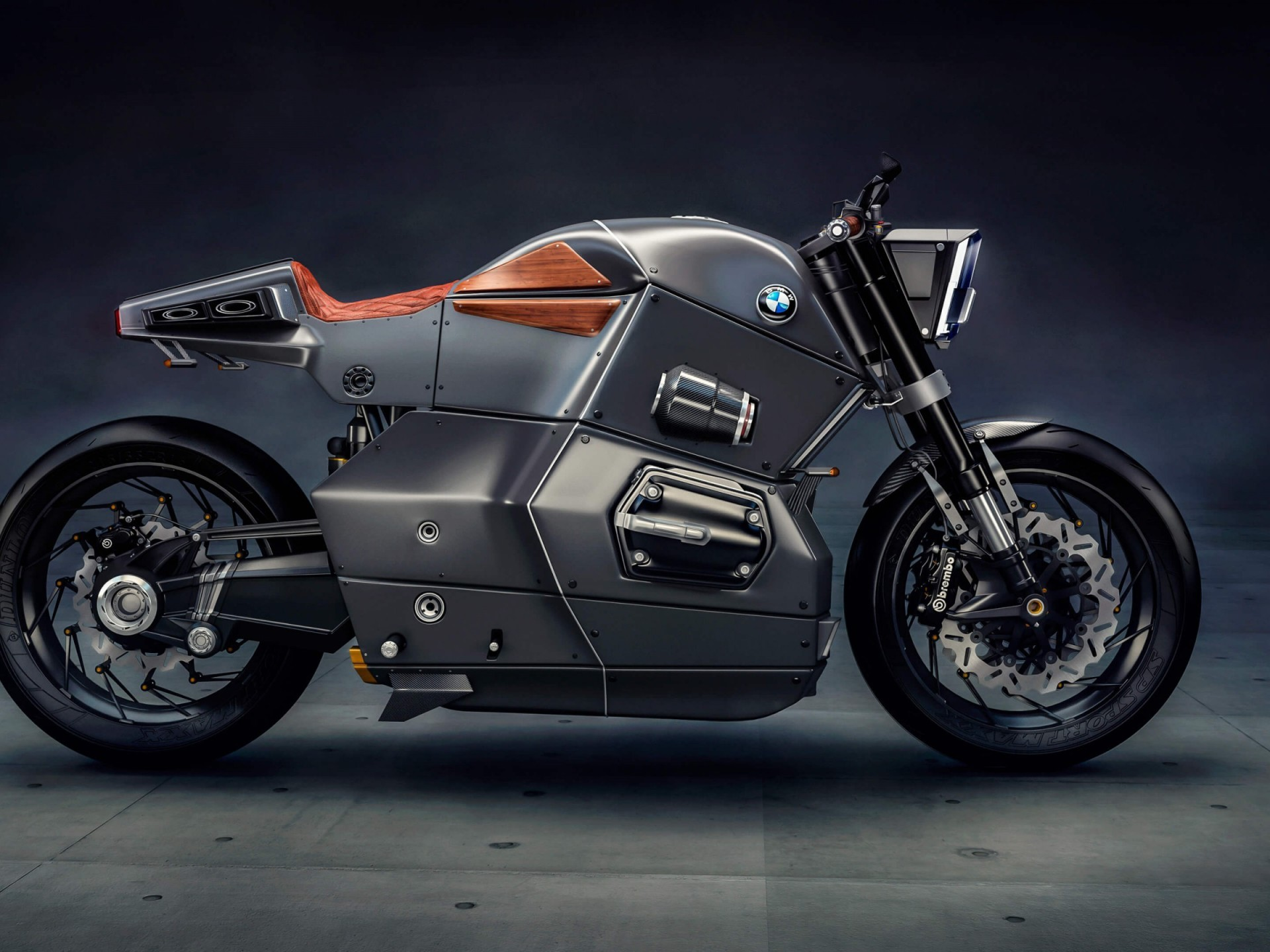 1920x1440 BMW M Bike Concept HD Wallpapers
