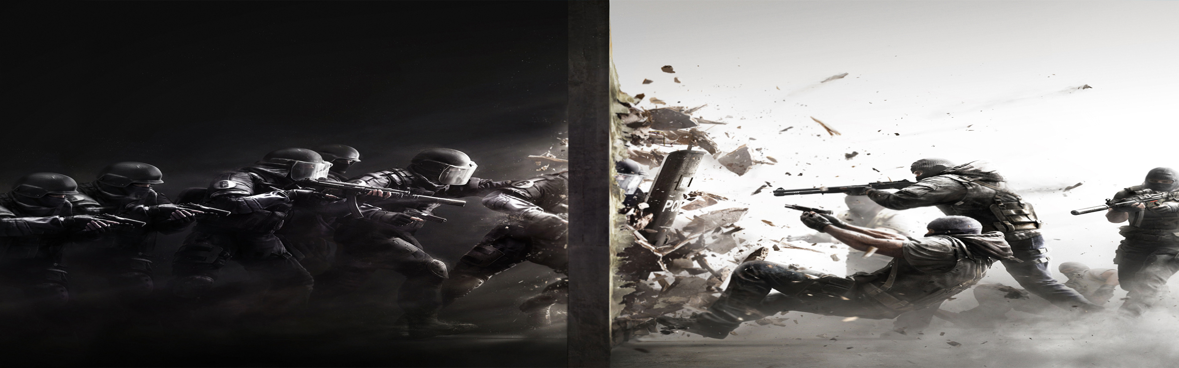 3840x1200 Dual screen wallpaper